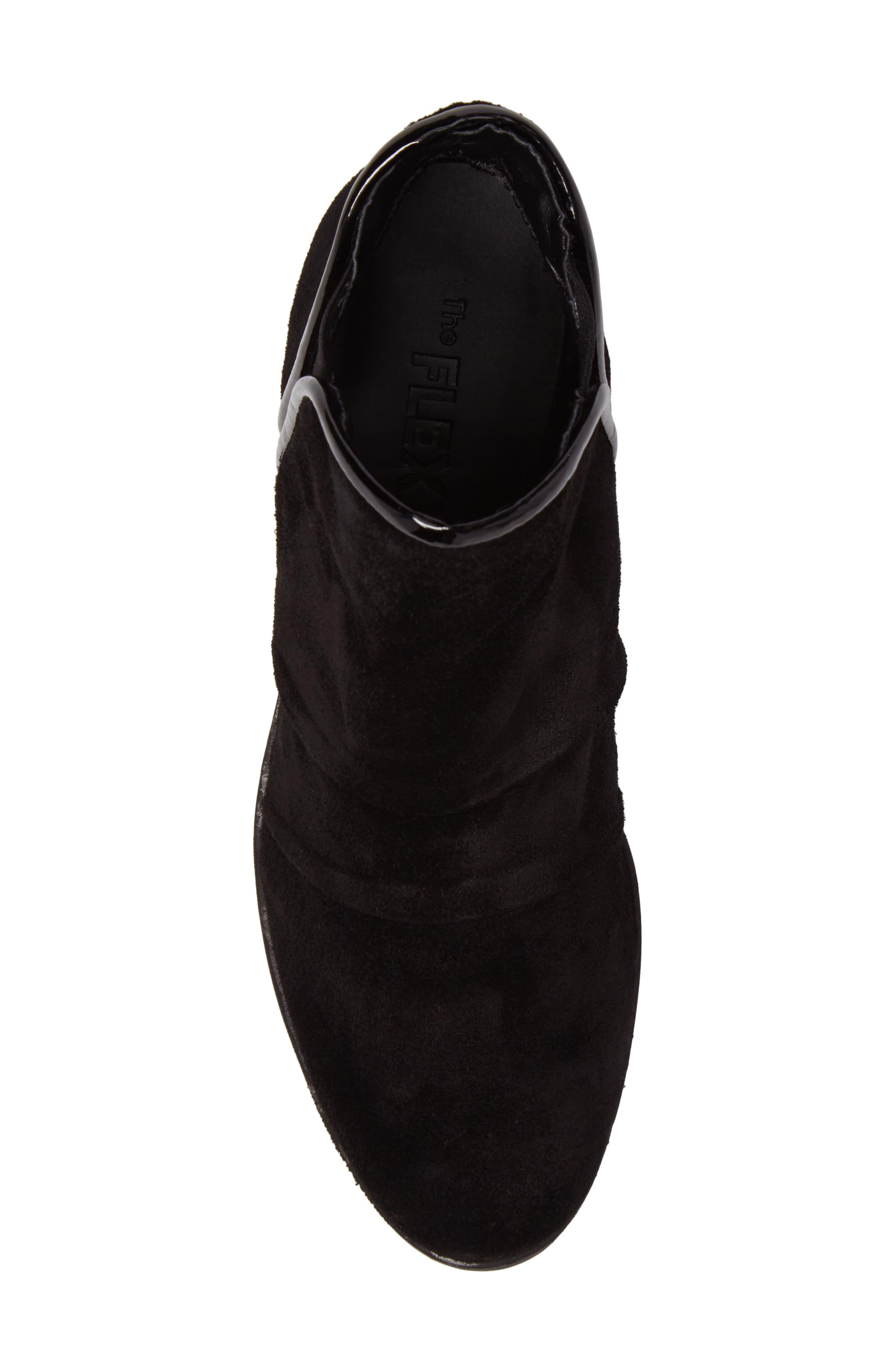 'Spaceless' Chelsea Wedge Boot,                             Alternate thumbnail 5, color,                             003