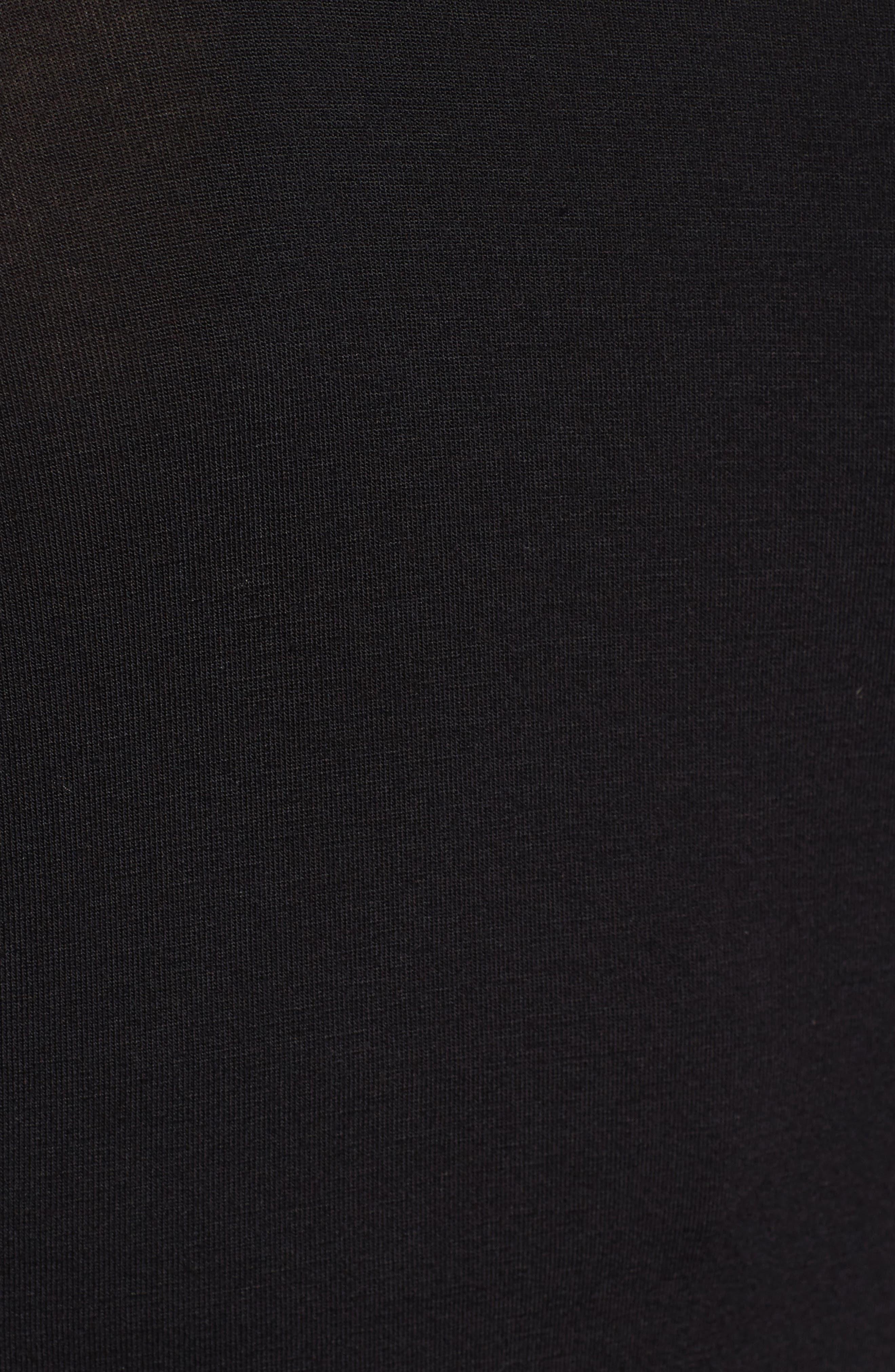 Patricia Cold Shoulder Bodysuit,                             Alternate thumbnail 5, color,                             001