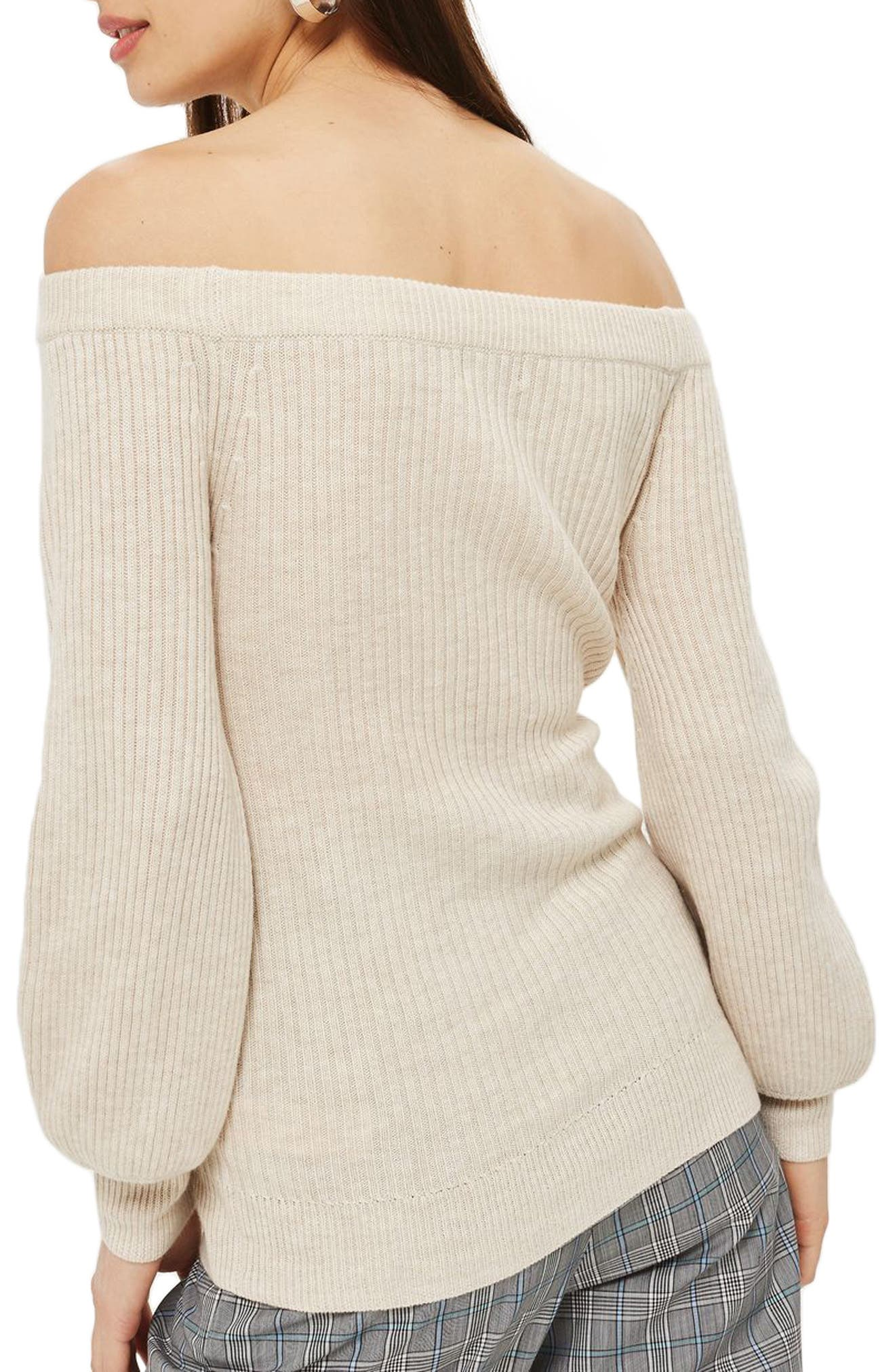 Off the Shoulder Sweater,                             Alternate thumbnail 2, color,                             251