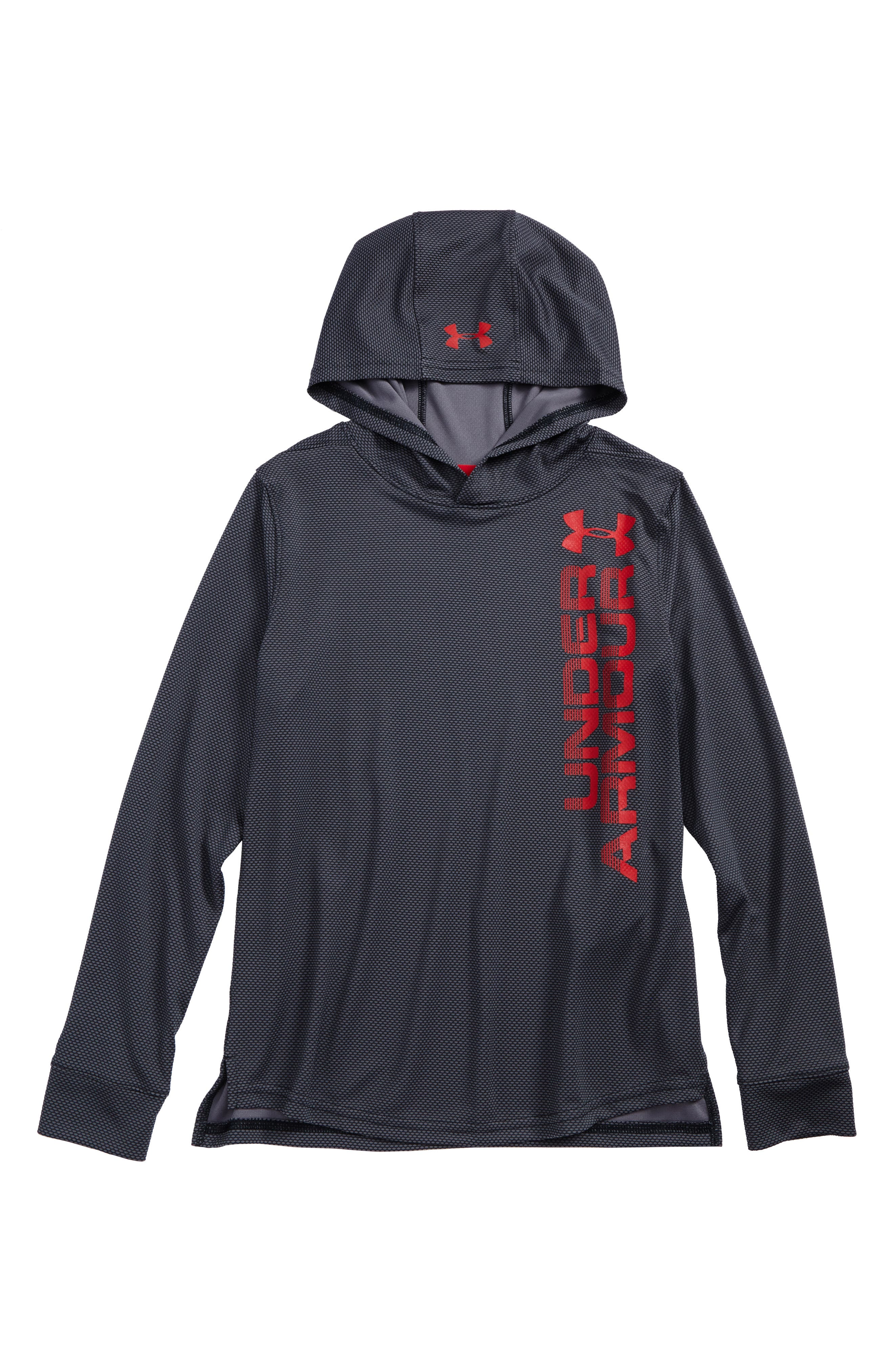 Textured Tech Hoodie,                             Main thumbnail 1, color,                             001
