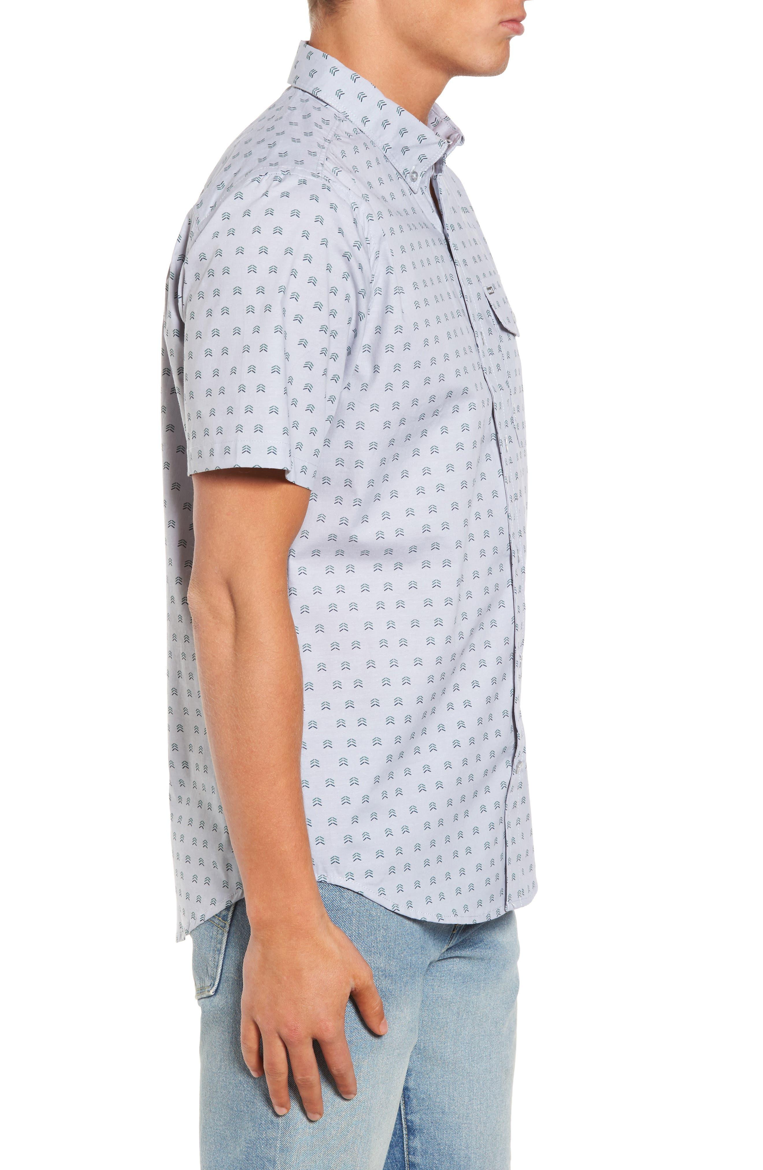 Brooks Woven Shirt,                             Alternate thumbnail 3, color,                             059
