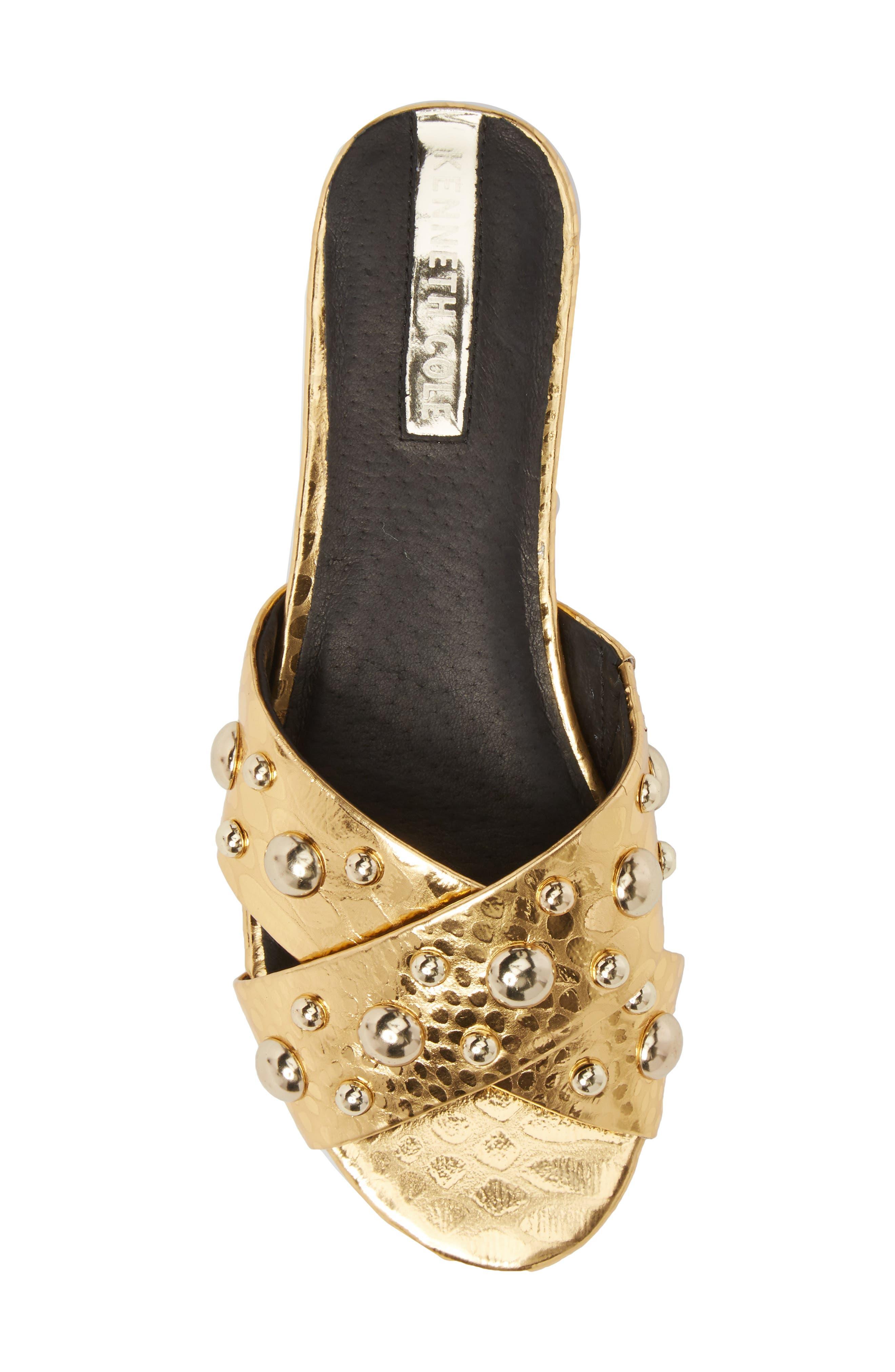 Verna Studded Slide Sandal,                             Alternate thumbnail 15, color,