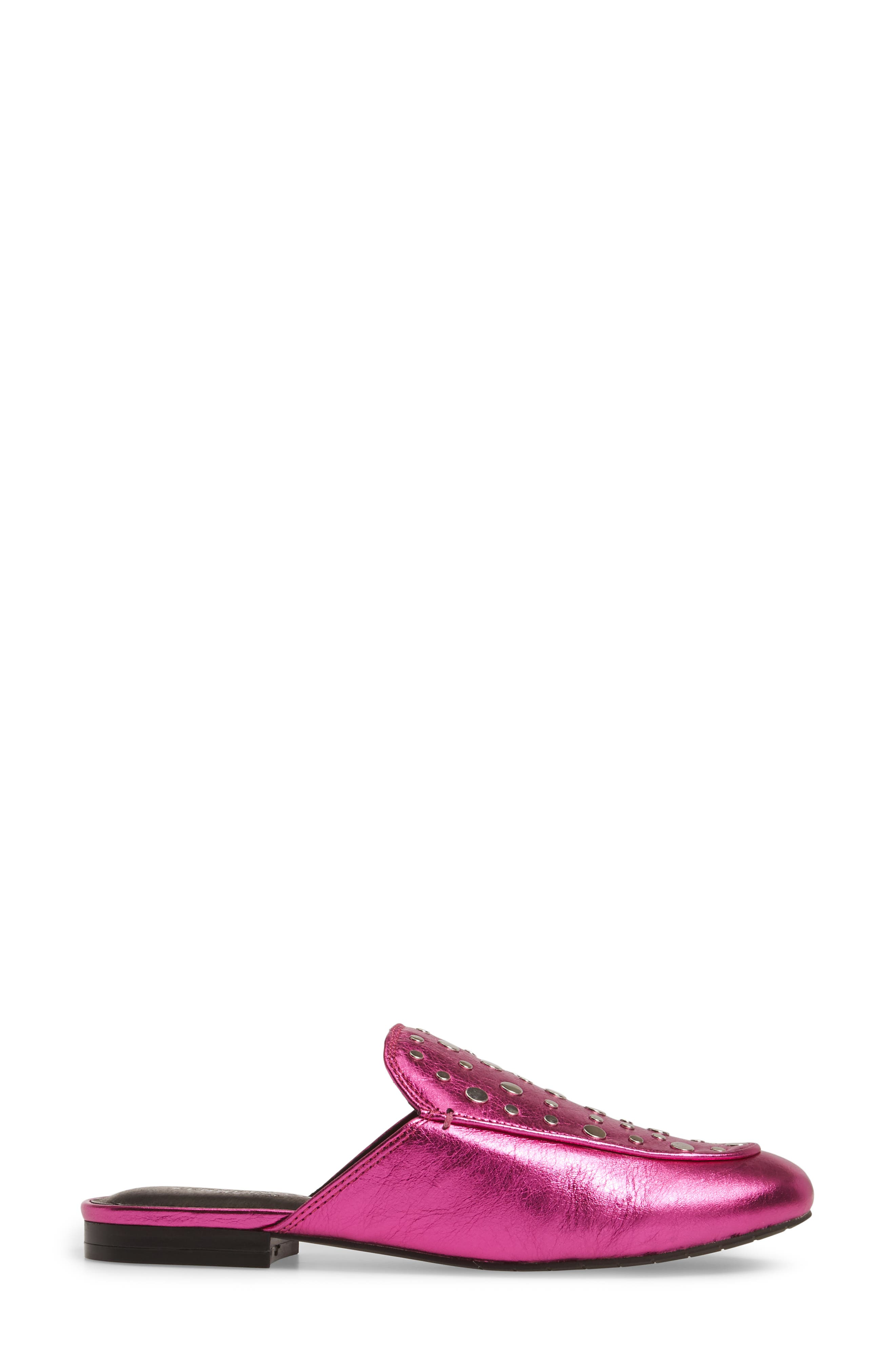 Wynter Studded Loafer,                             Alternate thumbnail 3, color,                             551