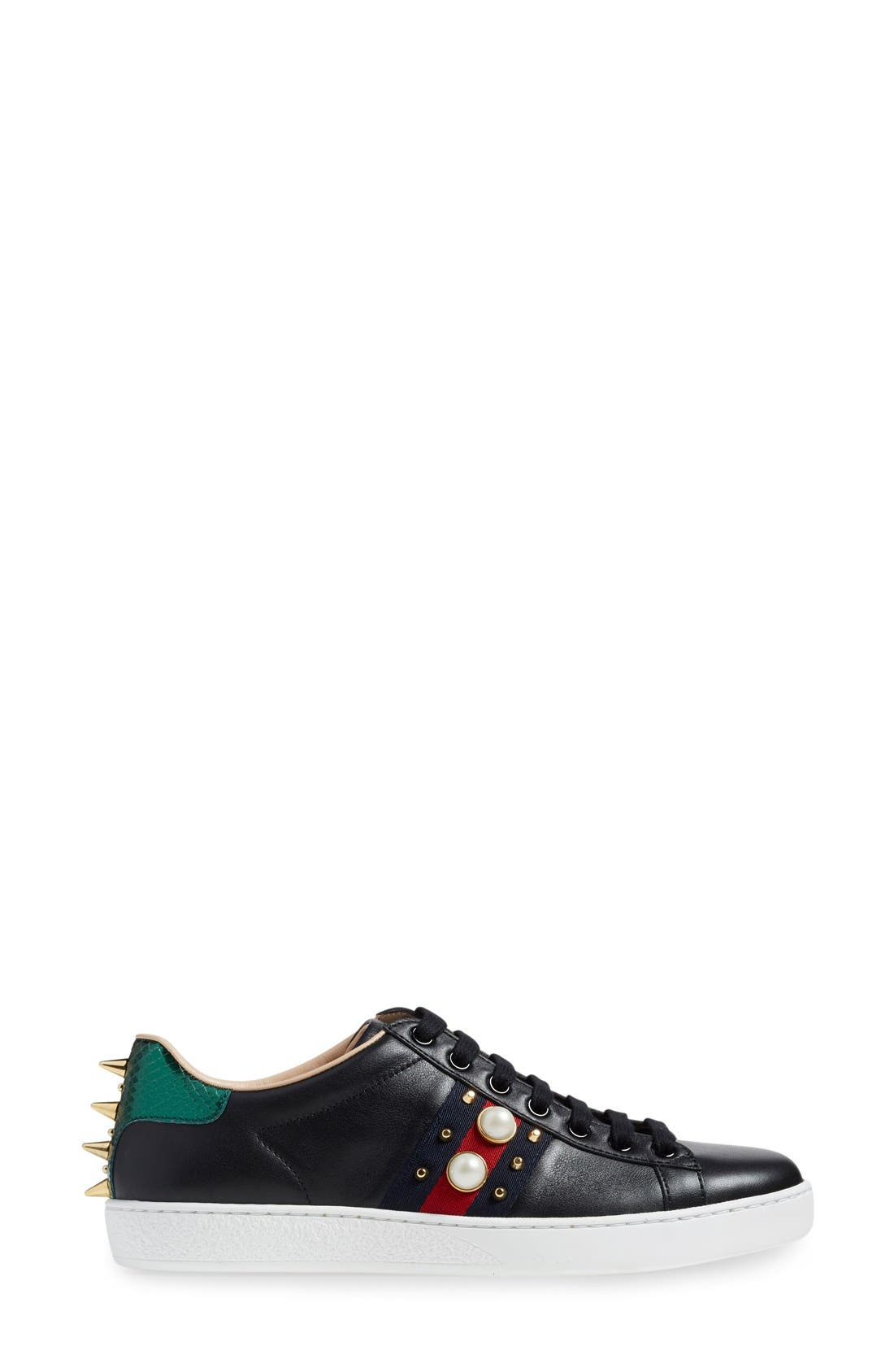 'New Ace' Low Top Sneaker,                             Alternate thumbnail 16, color,