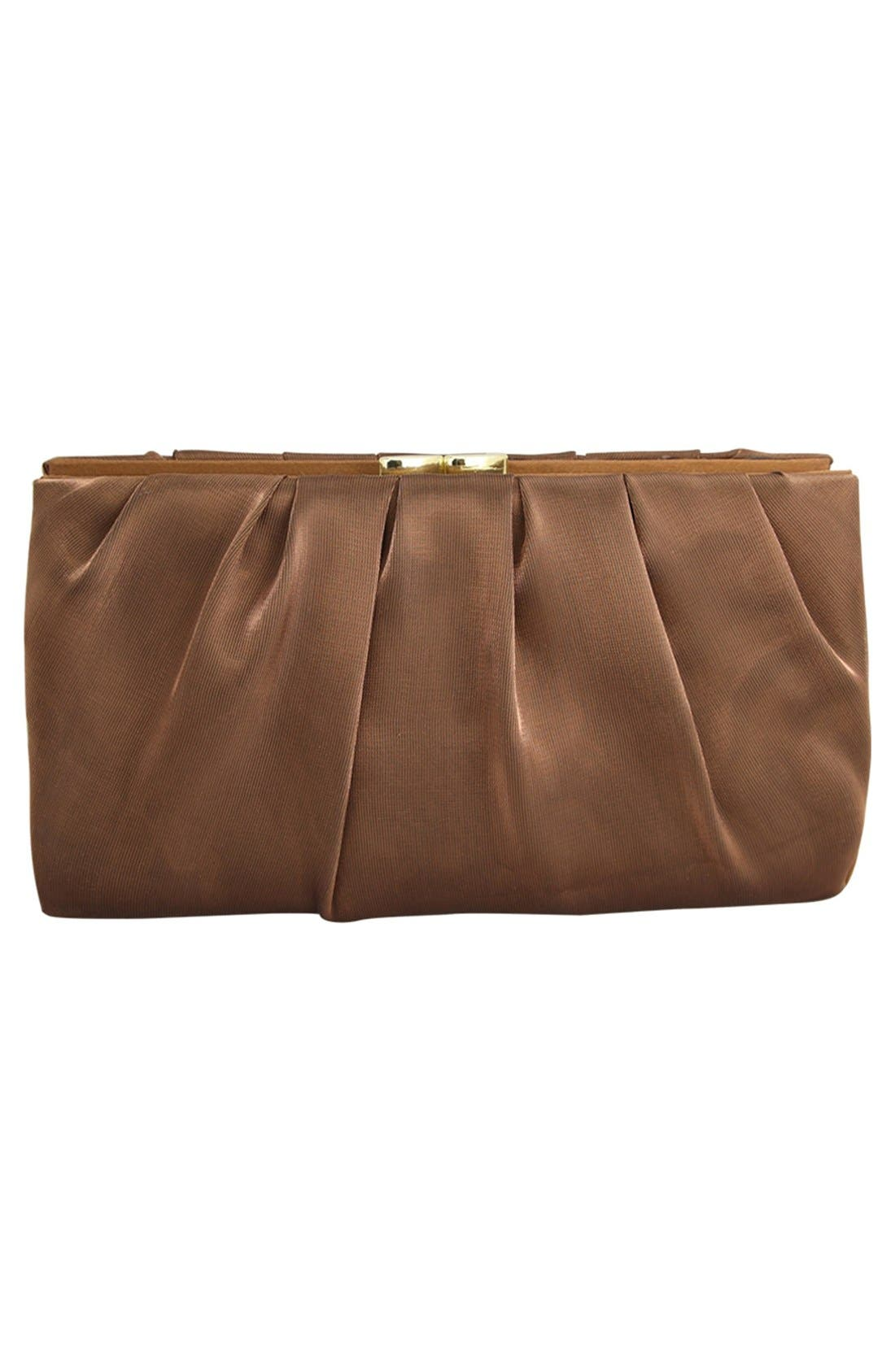 'Larry' Satin Clutch,                             Alternate thumbnail 2, color,                             200