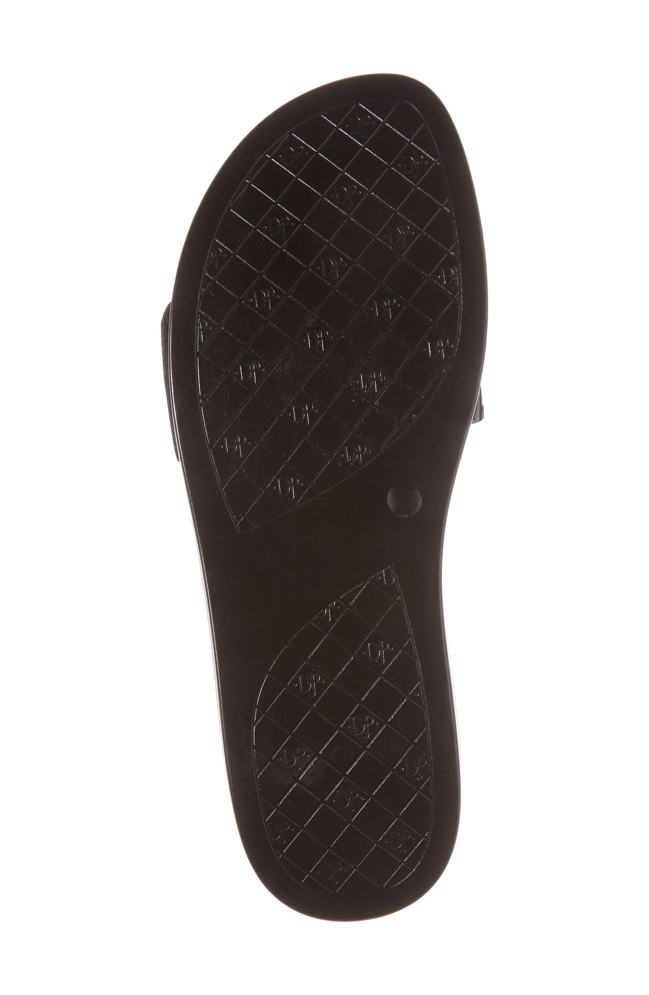 Fara Platform Slide Sandal,                             Alternate thumbnail 6, color,                             001