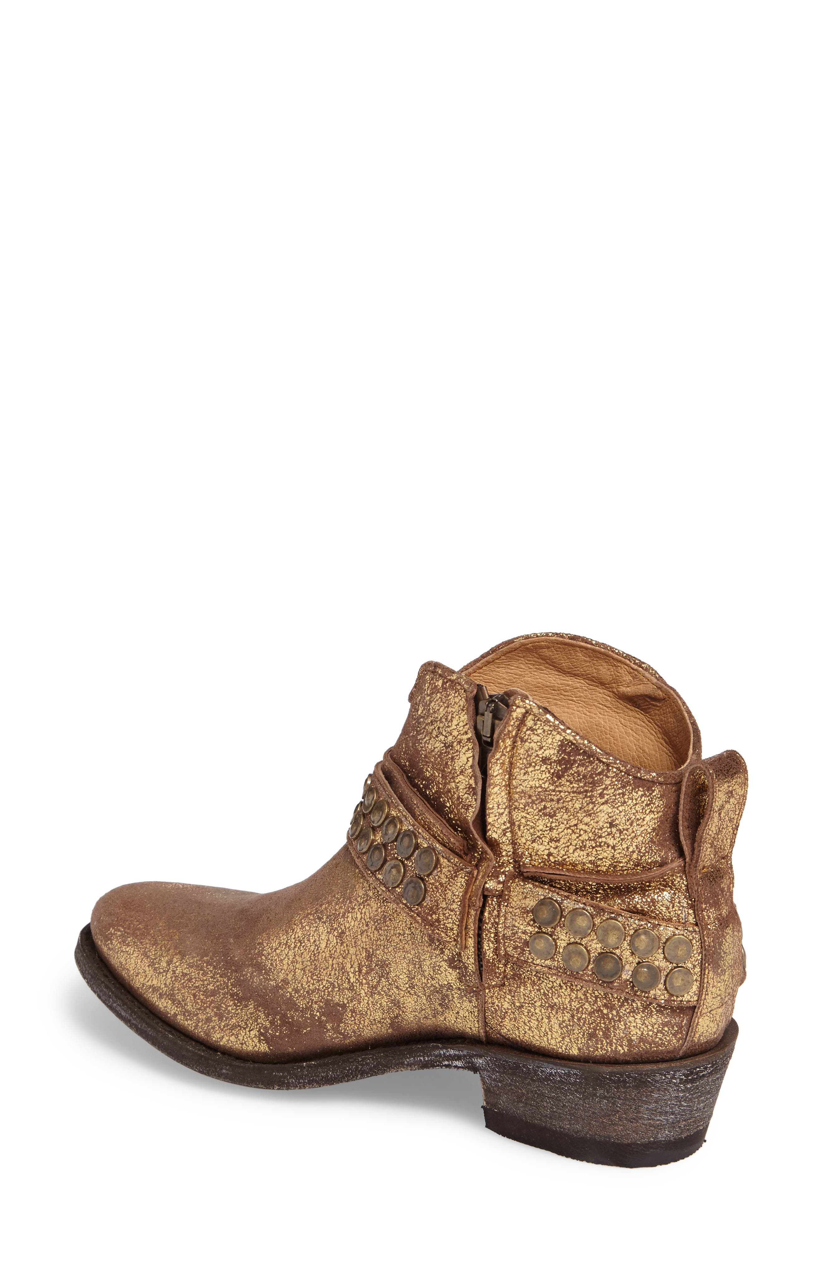Serene Western Boot,                             Alternate thumbnail 2, color,                             COPPER LEATHER