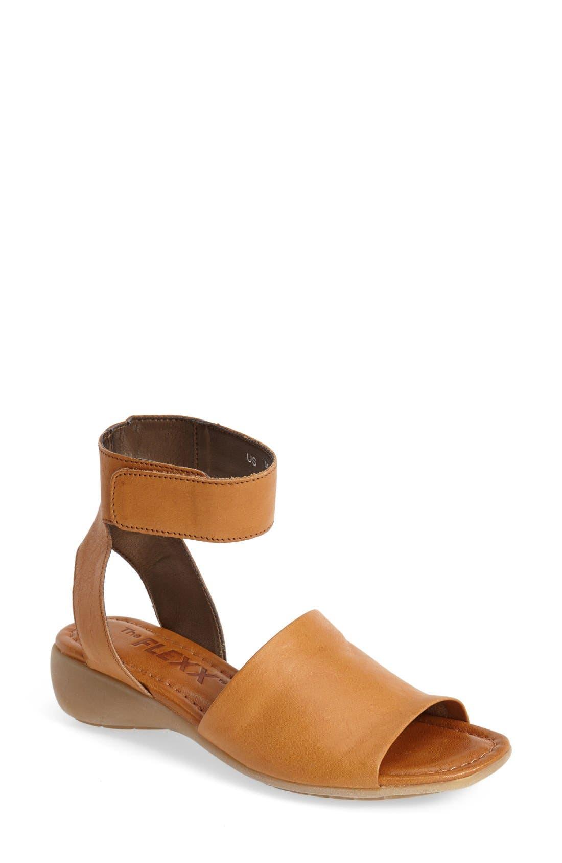 'Beglad' Leather Ankle Strap Sandal,                             Main thumbnail 11, color,