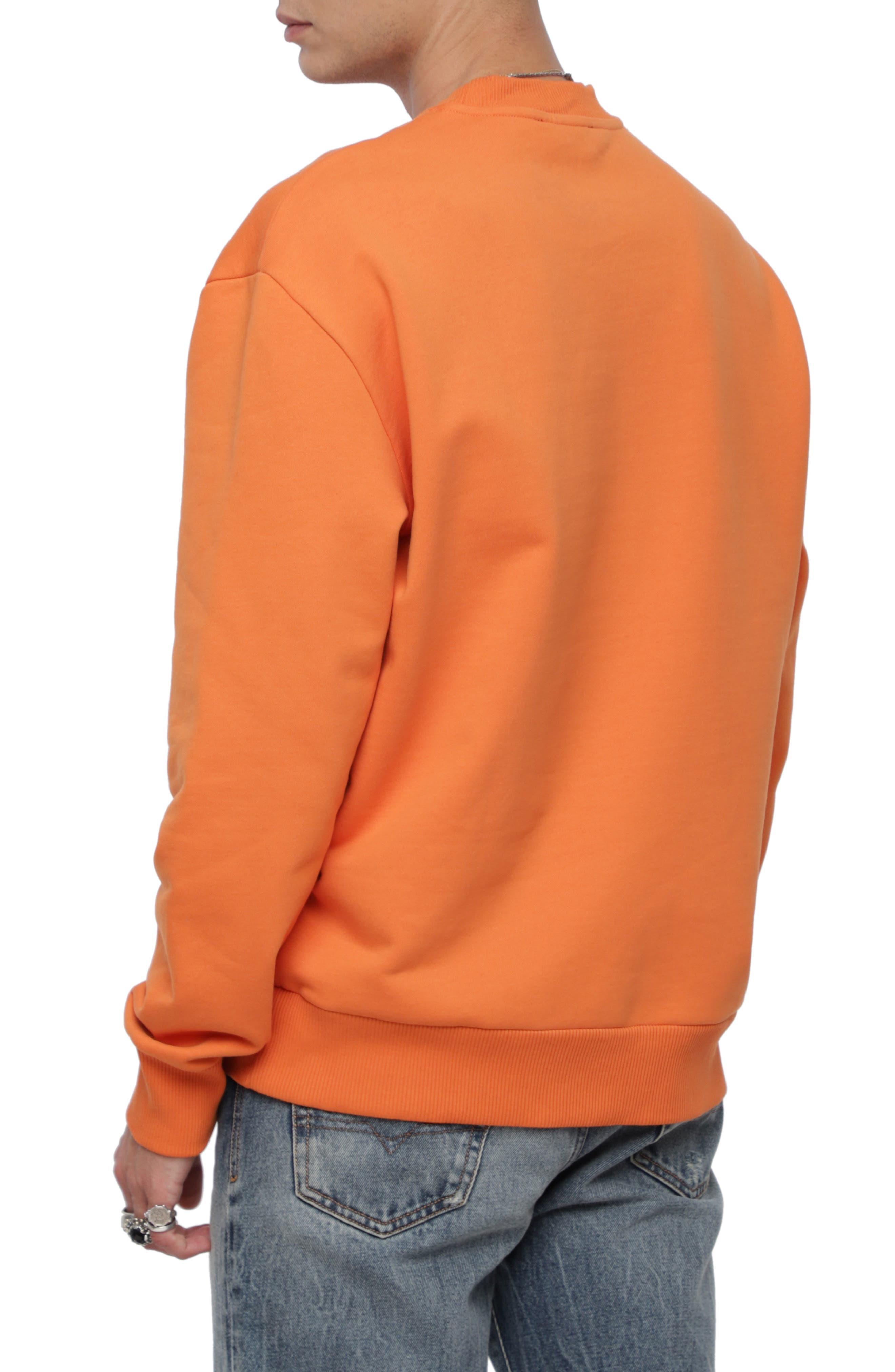 S-CREW-DIVISION Sweatshirt,                             Alternate thumbnail 2, color,                             ORANGE