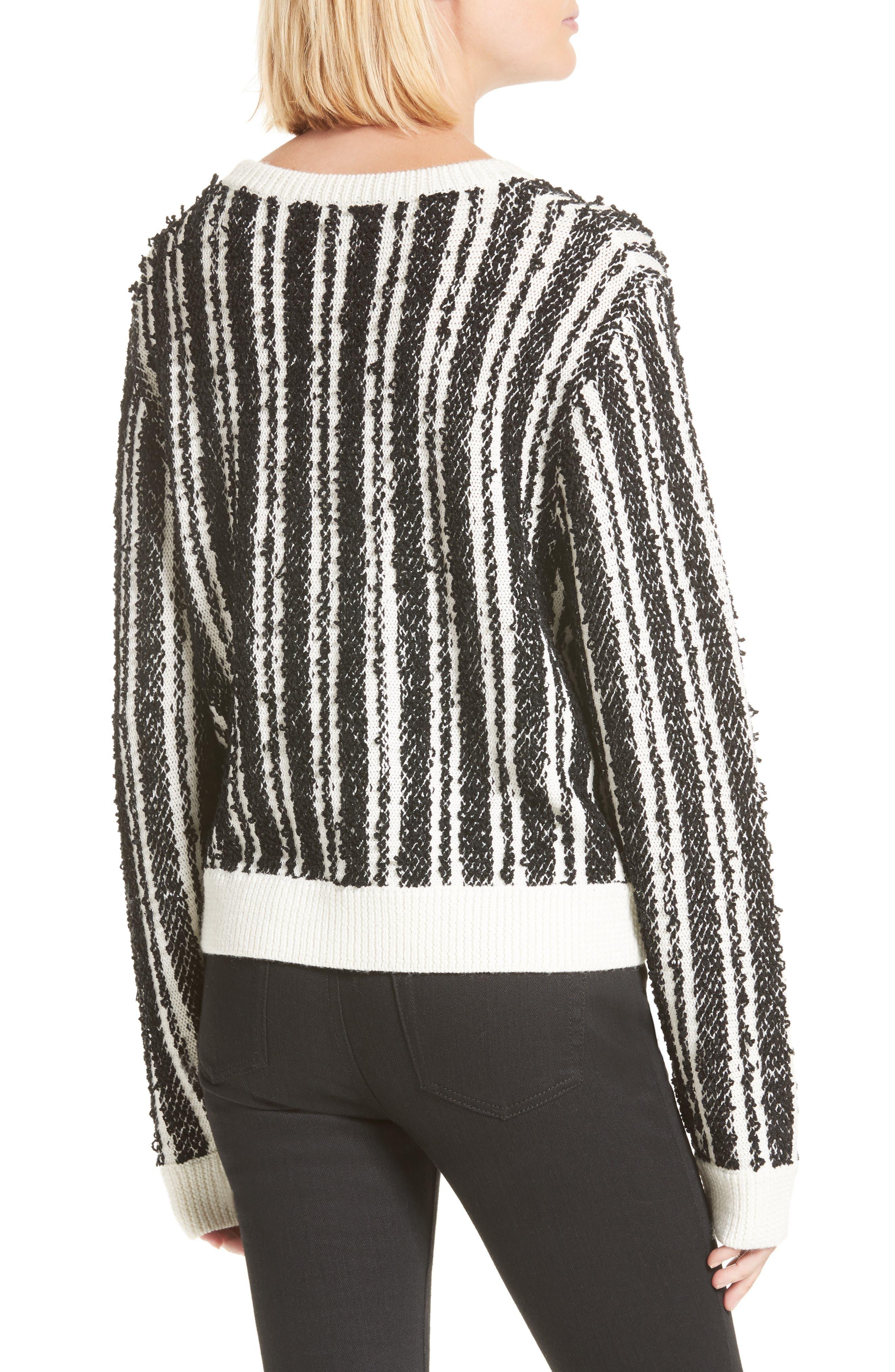 Nabila Stripe Sweater,                             Alternate thumbnail 2, color,                             001