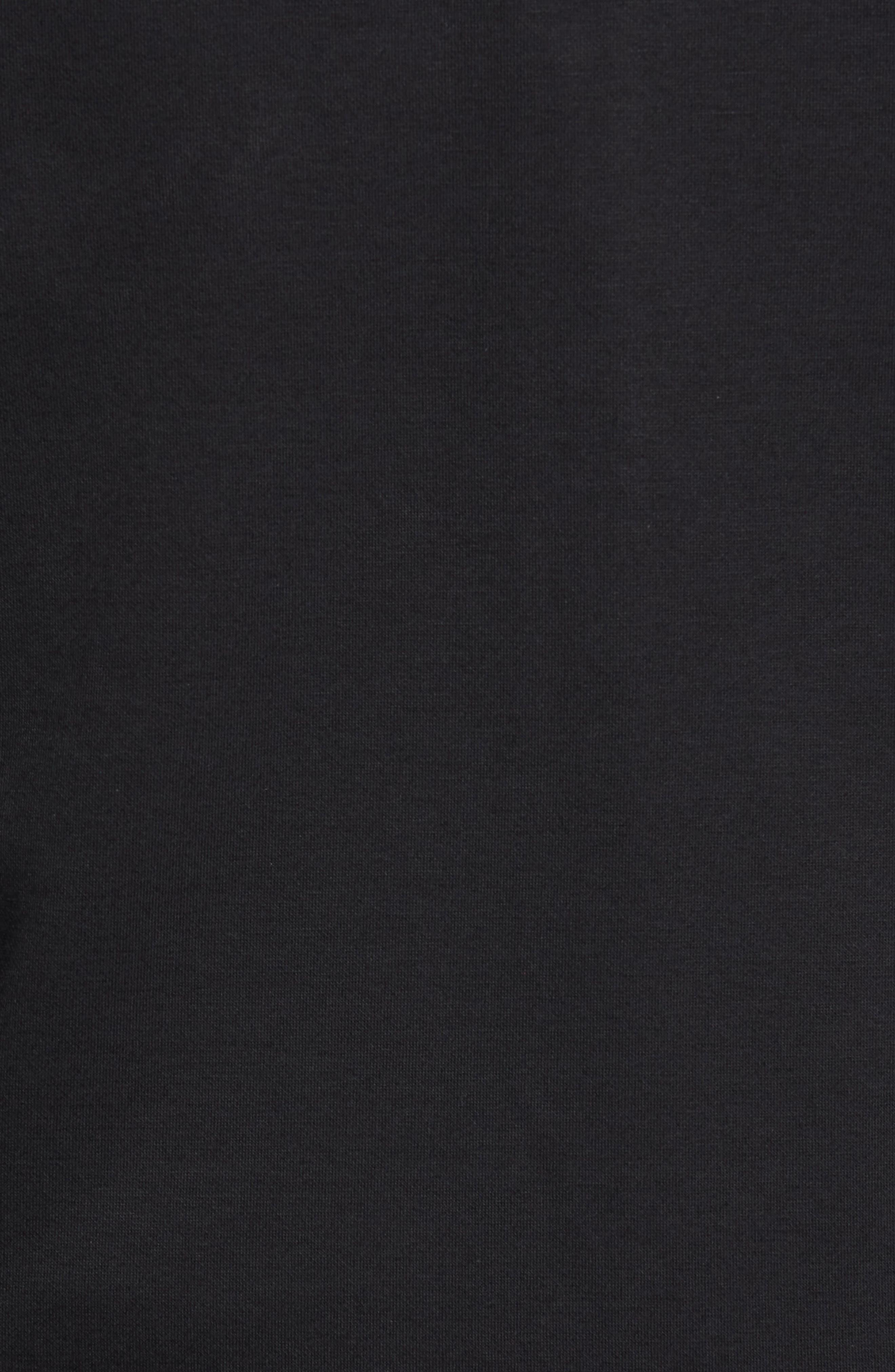 Soule Slim Fit Moto Jacket,                             Alternate thumbnail 6, color,                             BLACK