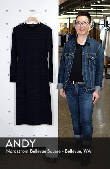 Stripe Wool Sweater-Dress, sales video thumbnail