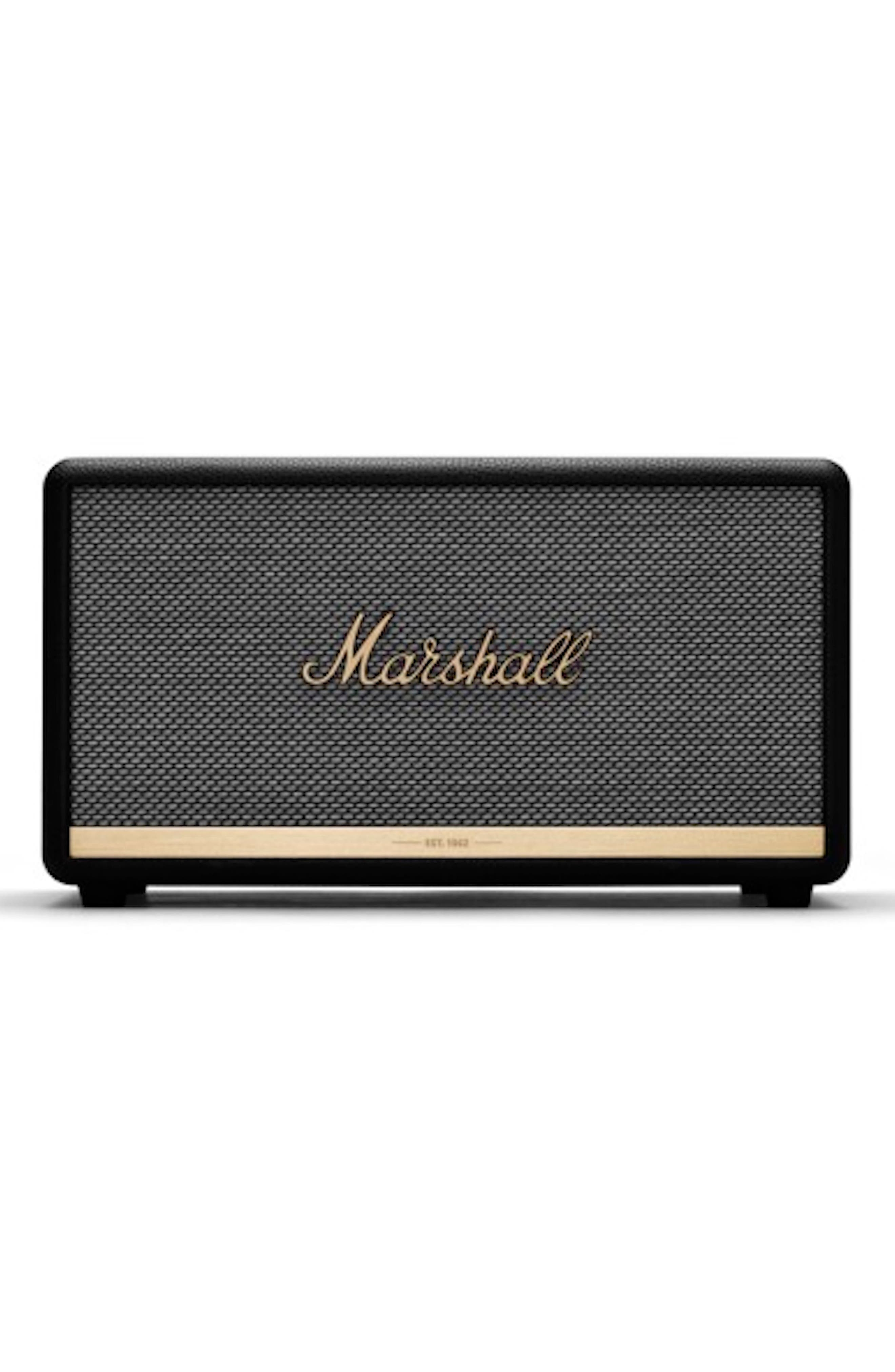 MARSHALL,                             Stanmore II Bluetooth<sup>®</sup> Speaker,                             Main thumbnail 1, color,                             BLACK