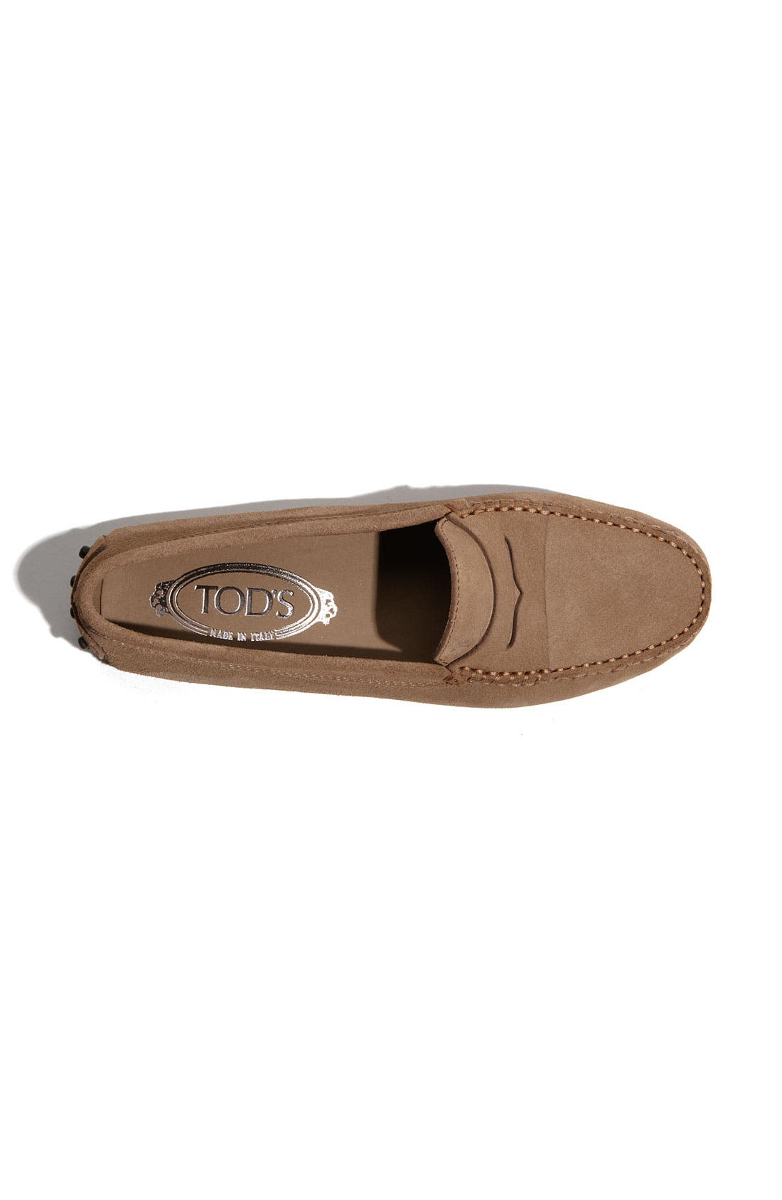 'Gommini' Moccasin,                             Alternate thumbnail 6, color,                             TOBACCO