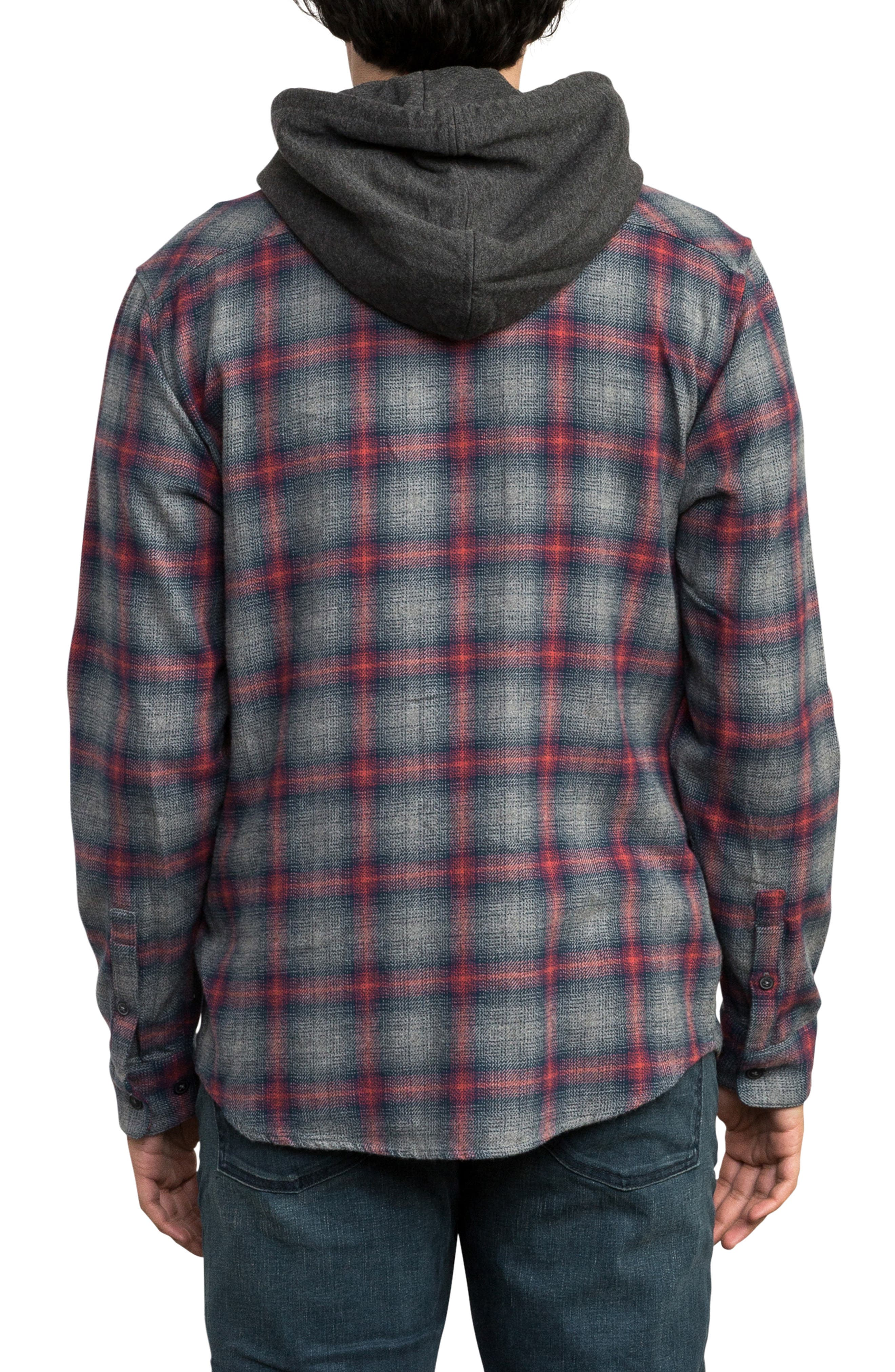 Good Hombre Shirt Jacket,                             Alternate thumbnail 2, color,                             GREY NOISE