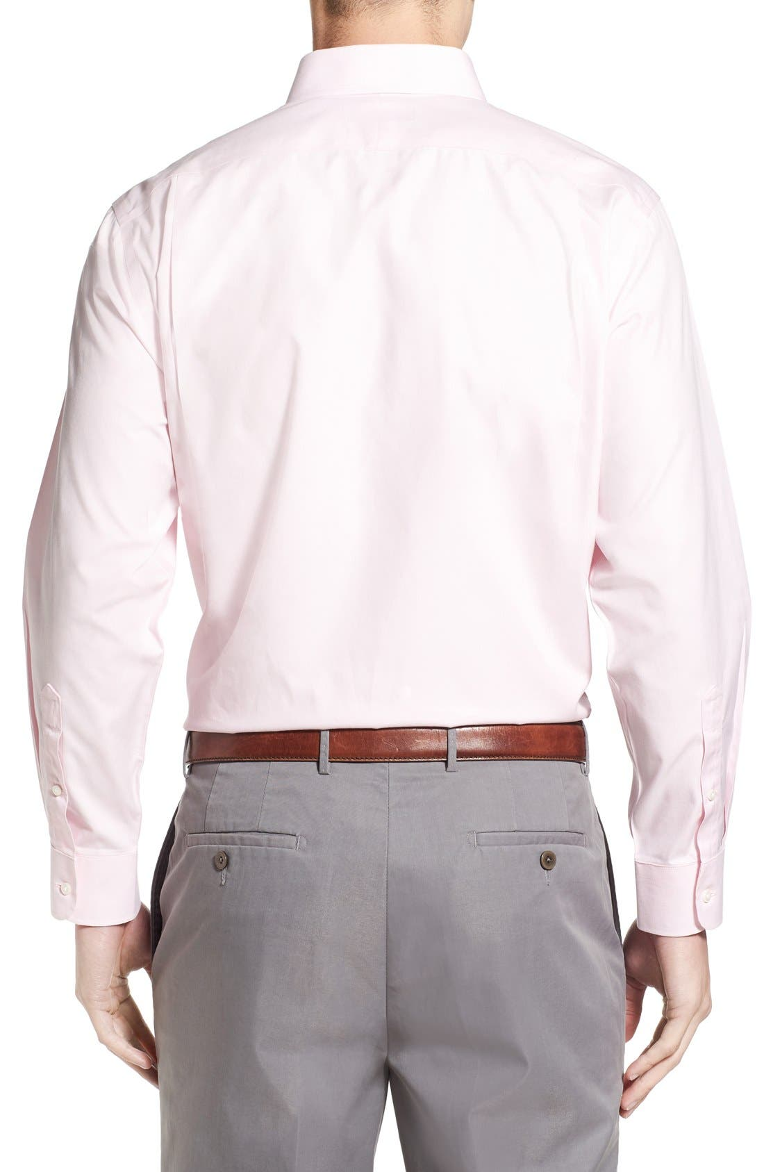 Smartcare<sup>™</sup> Traditional Fit Pinpoint Dress Shirt,                             Alternate thumbnail 65, color,