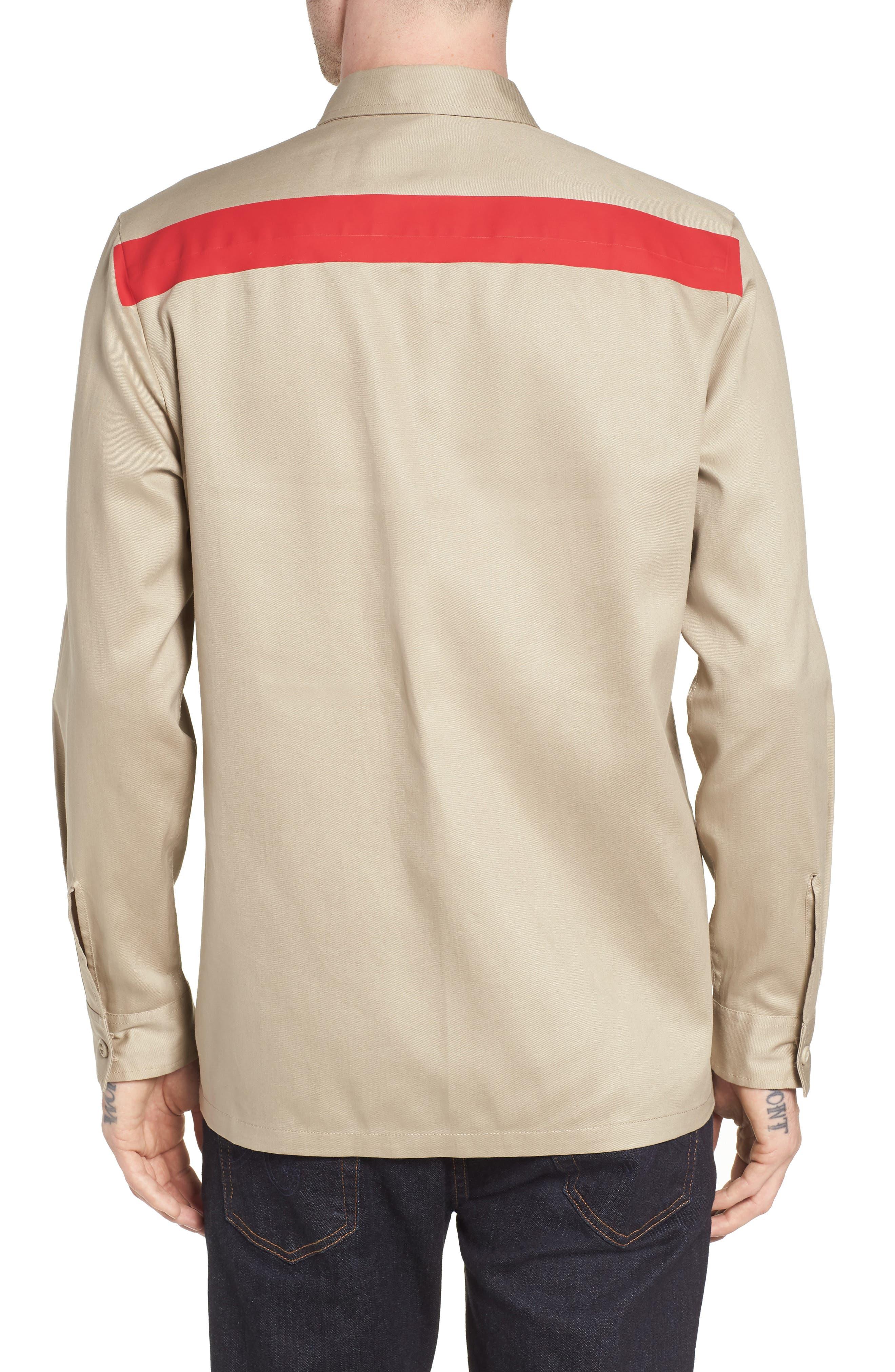 Placement Stripe Utility Shirt,                             Alternate thumbnail 2, color,                             250