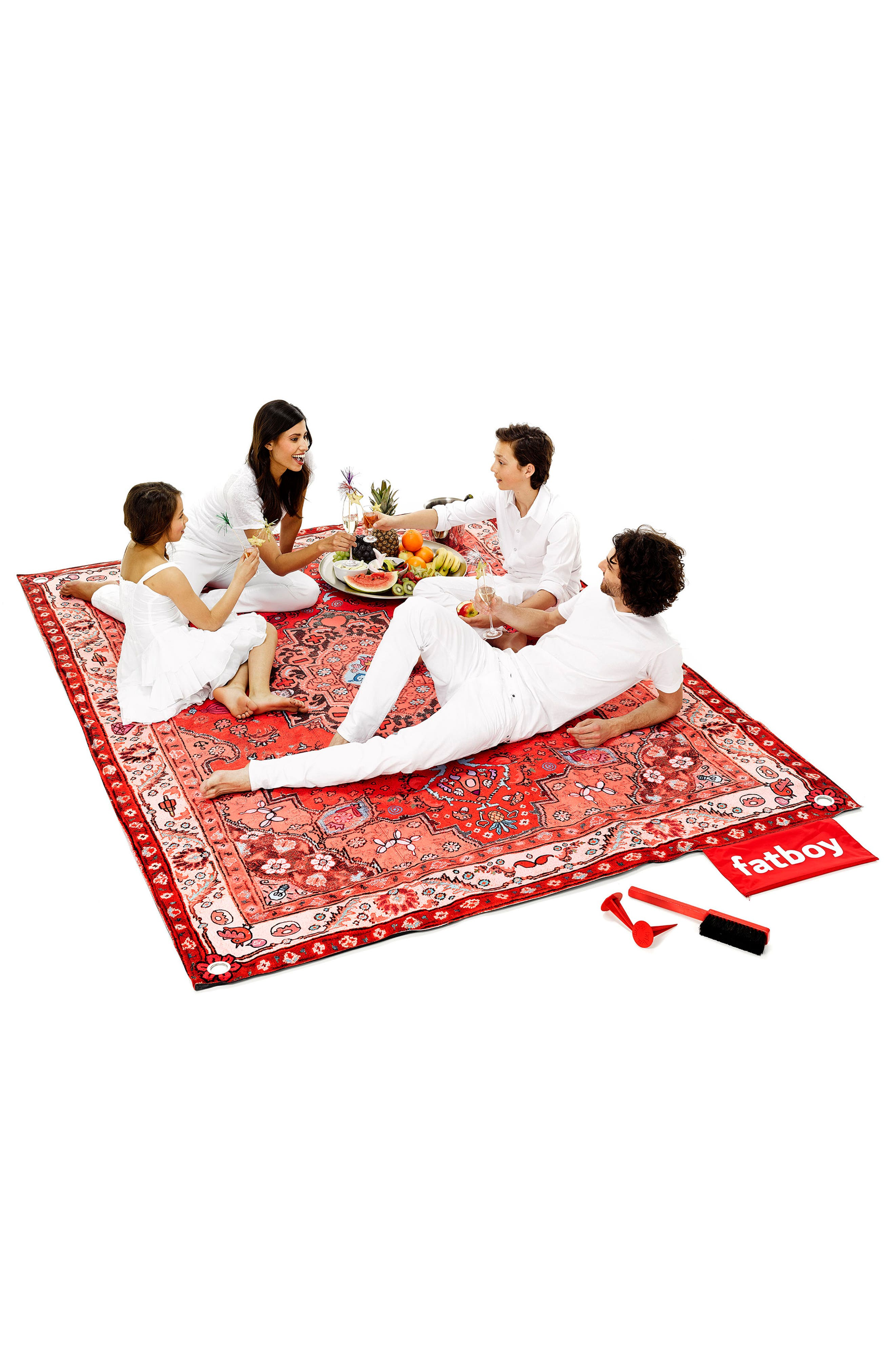 Picnic Lounge Outdoor Blanket,                             Alternate thumbnail 3, color,                             652