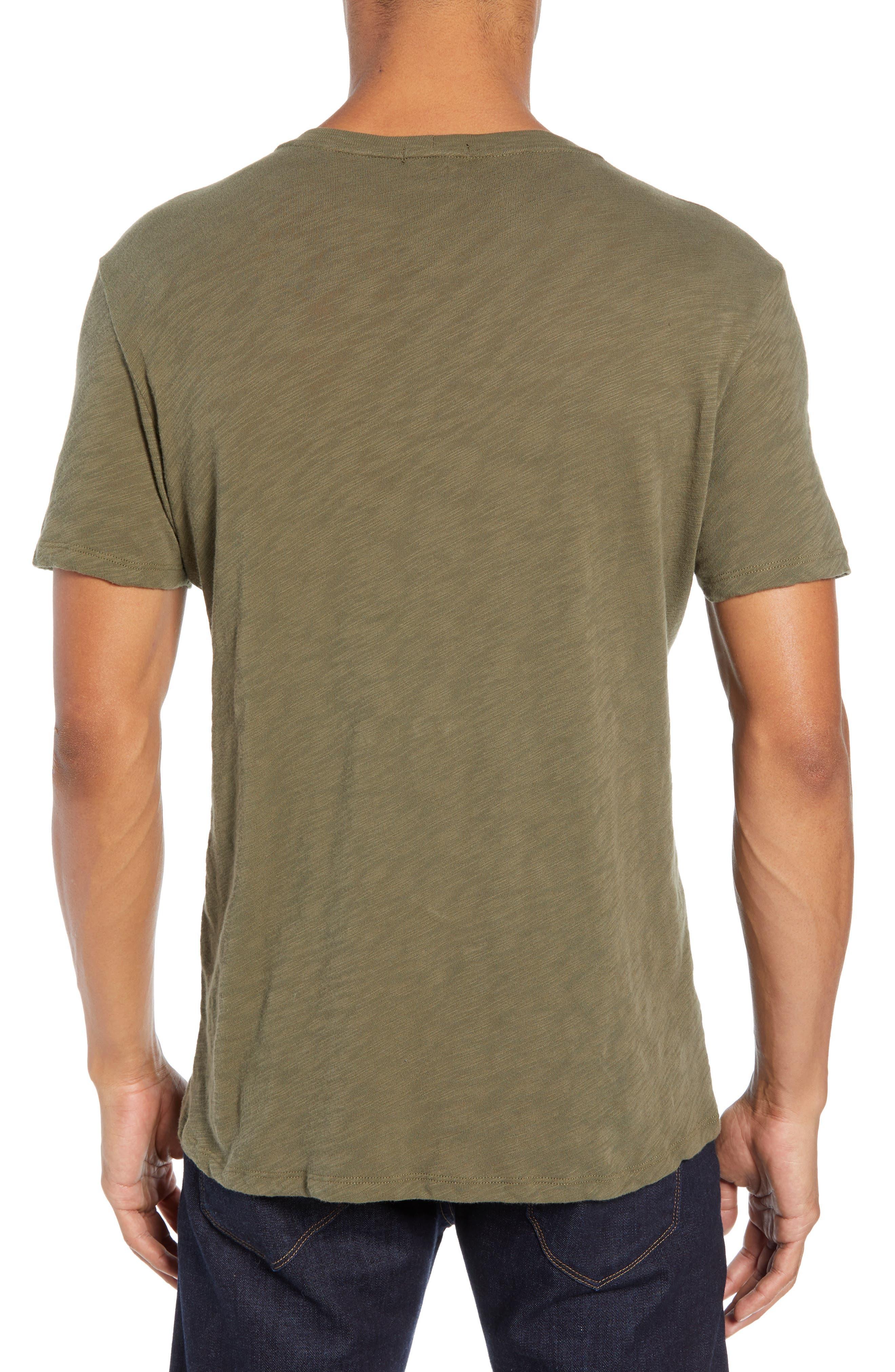 Crewneck T-Shirt,                             Alternate thumbnail 2, color,                             FATIGUE