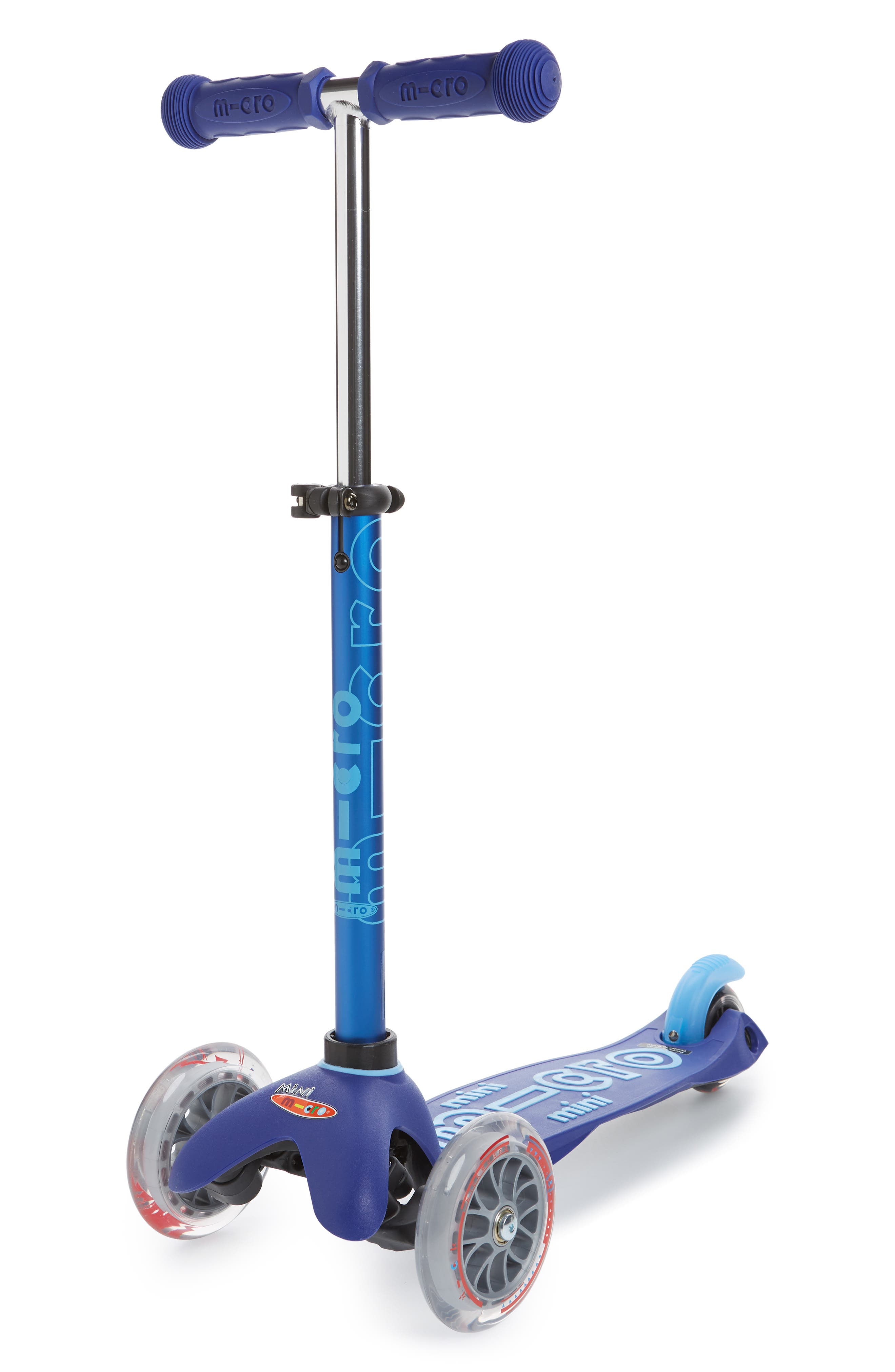 Mini Deluxe Kick Scooter,                             Main thumbnail 1, color,                             BLUE
