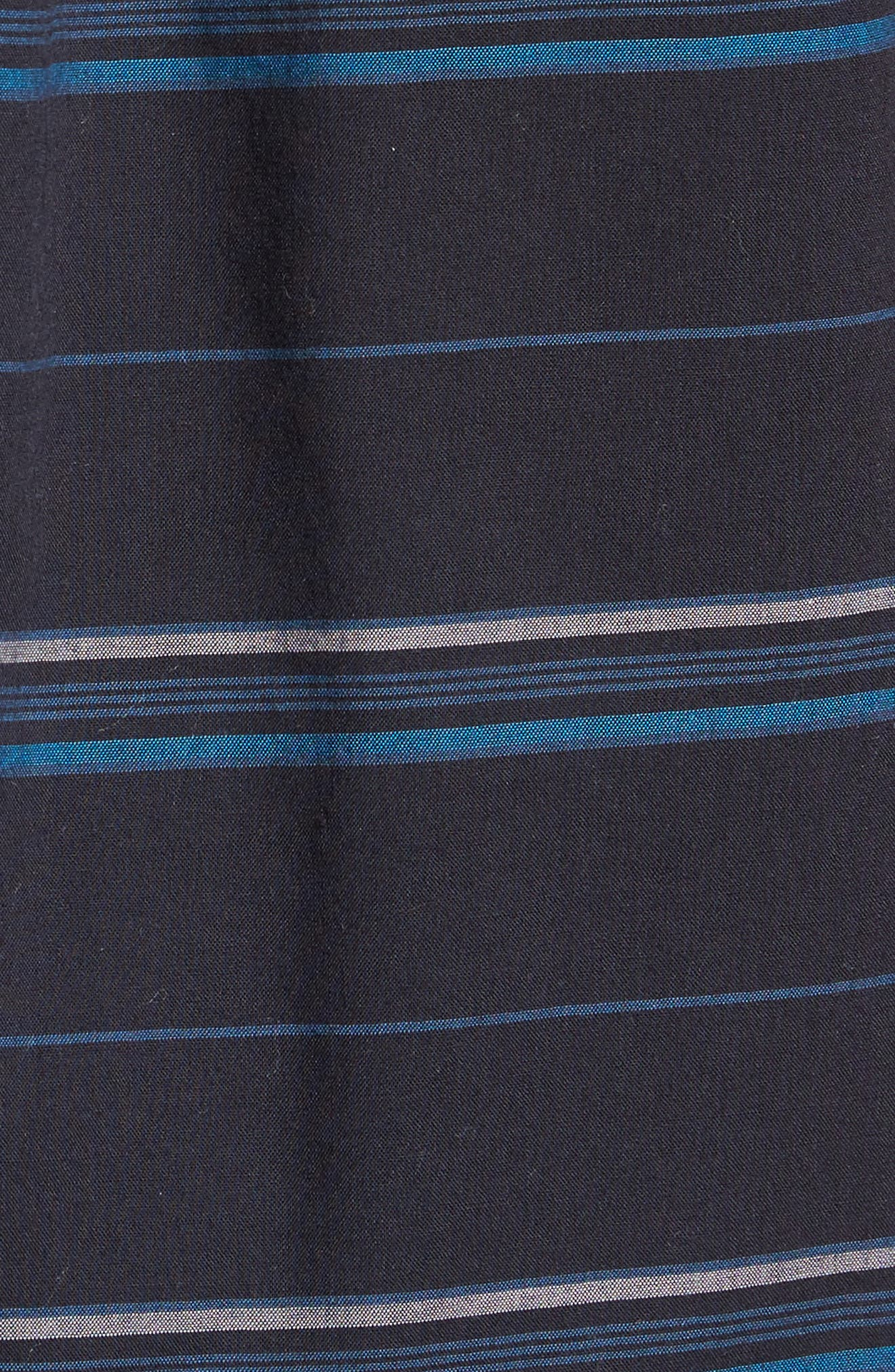Striped Woven Shirt,                             Alternate thumbnail 5, color,                             410