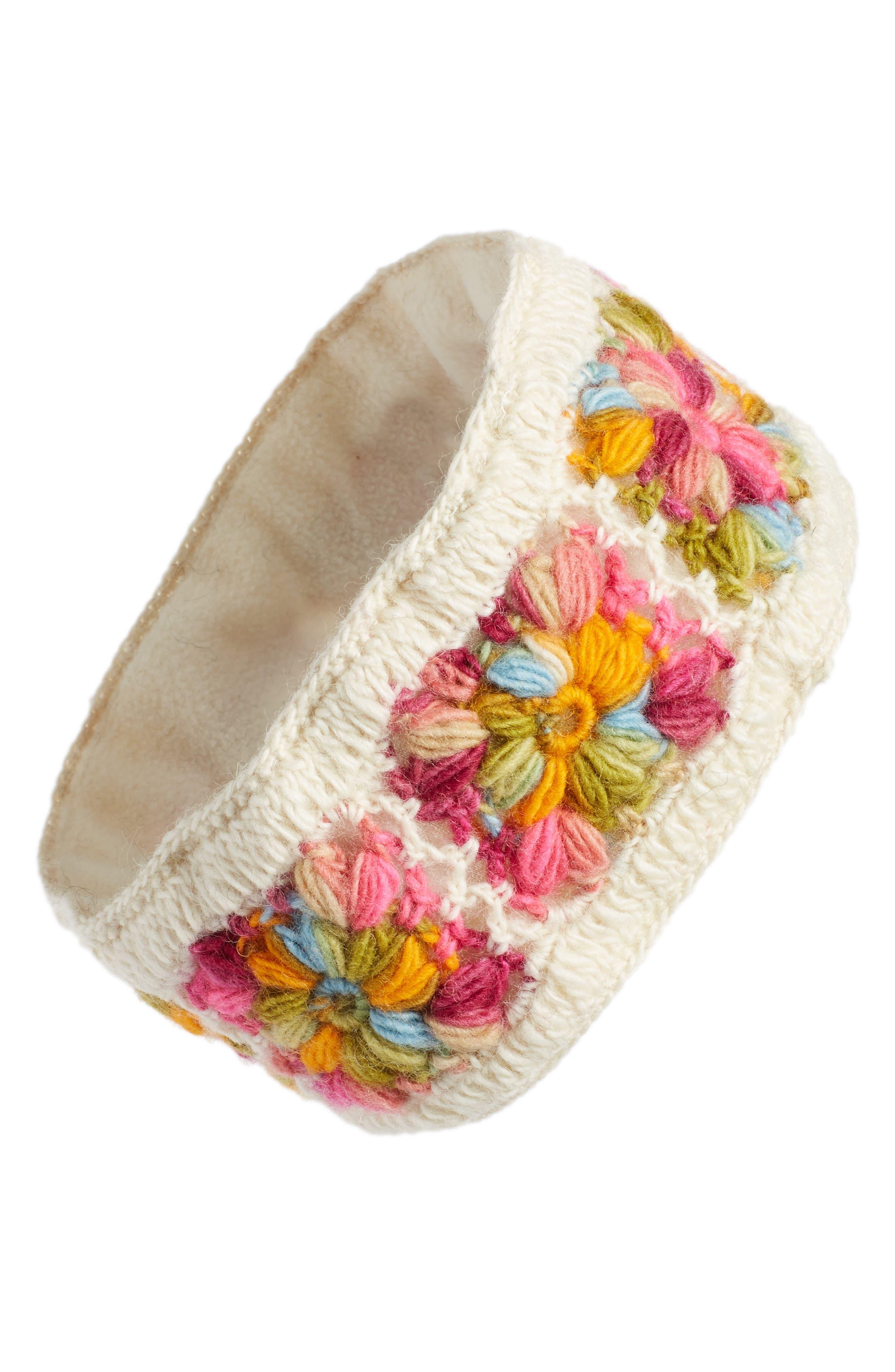 Crochet Ear Warmer Headband,                             Main thumbnail 11, color,
