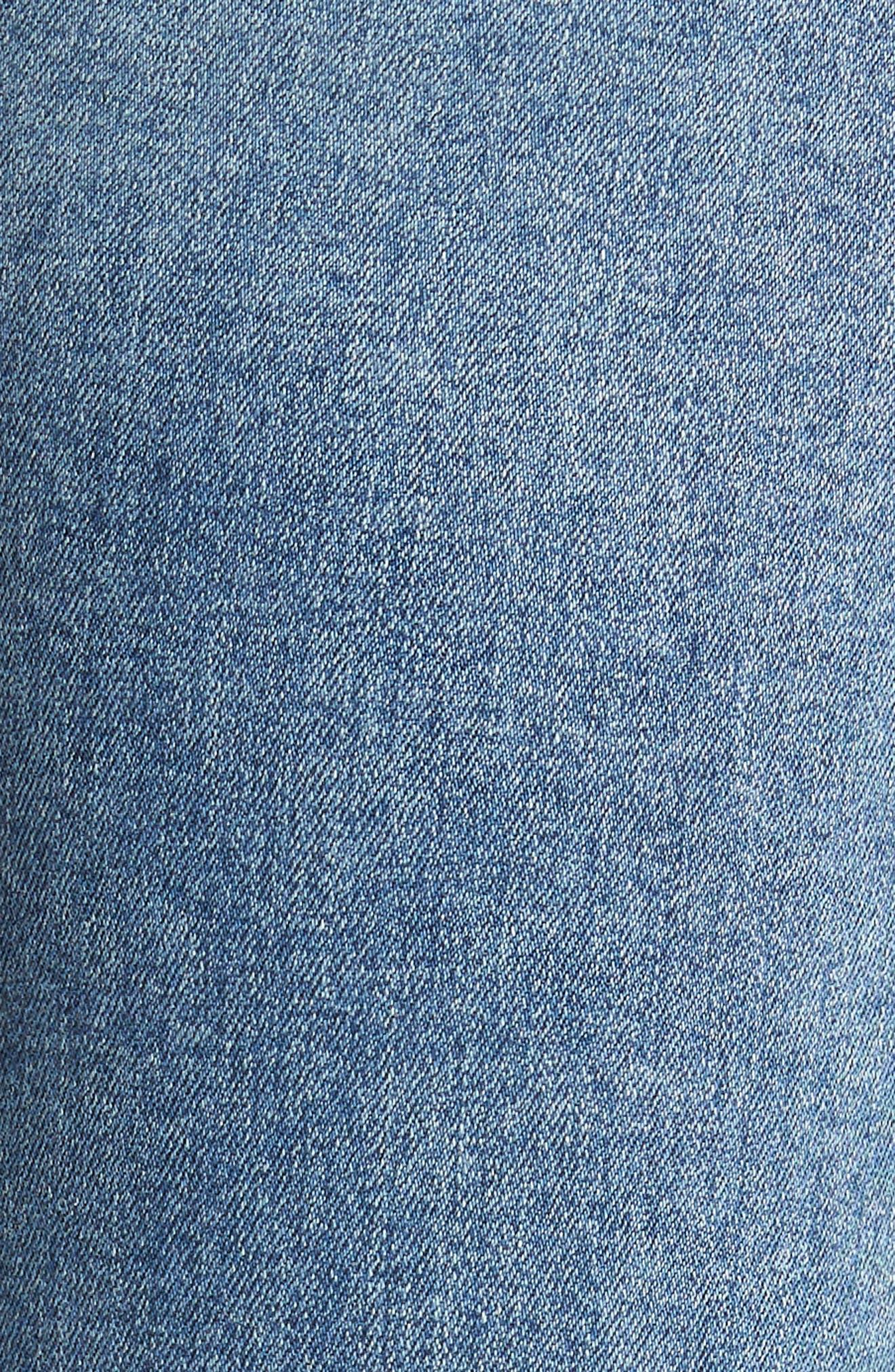 Cara Ankle Cigarette Jeans,                             Alternate thumbnail 6, color,                             457