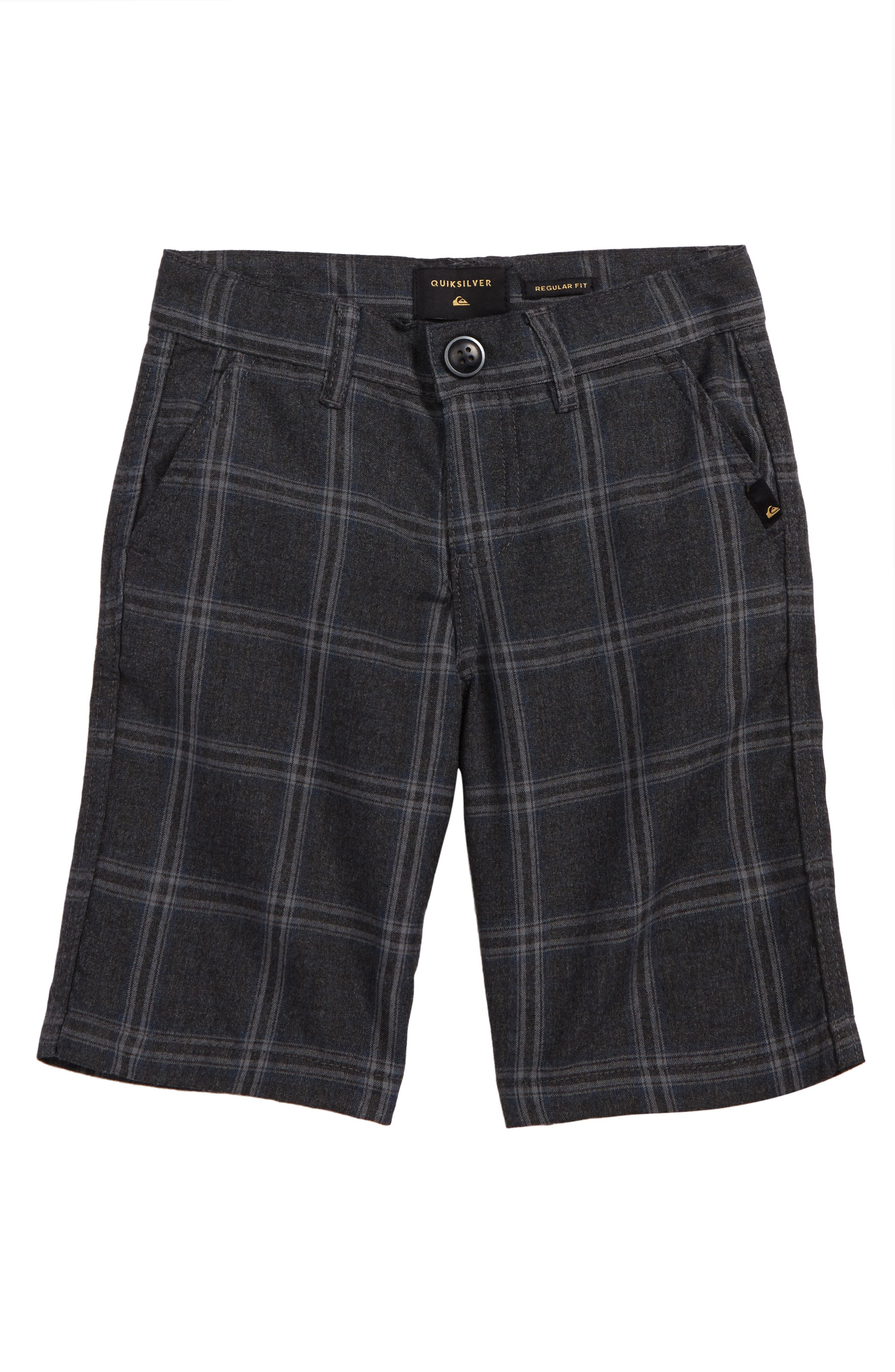 Regeneration Plaid Shorts,                             Main thumbnail 1, color,                             020