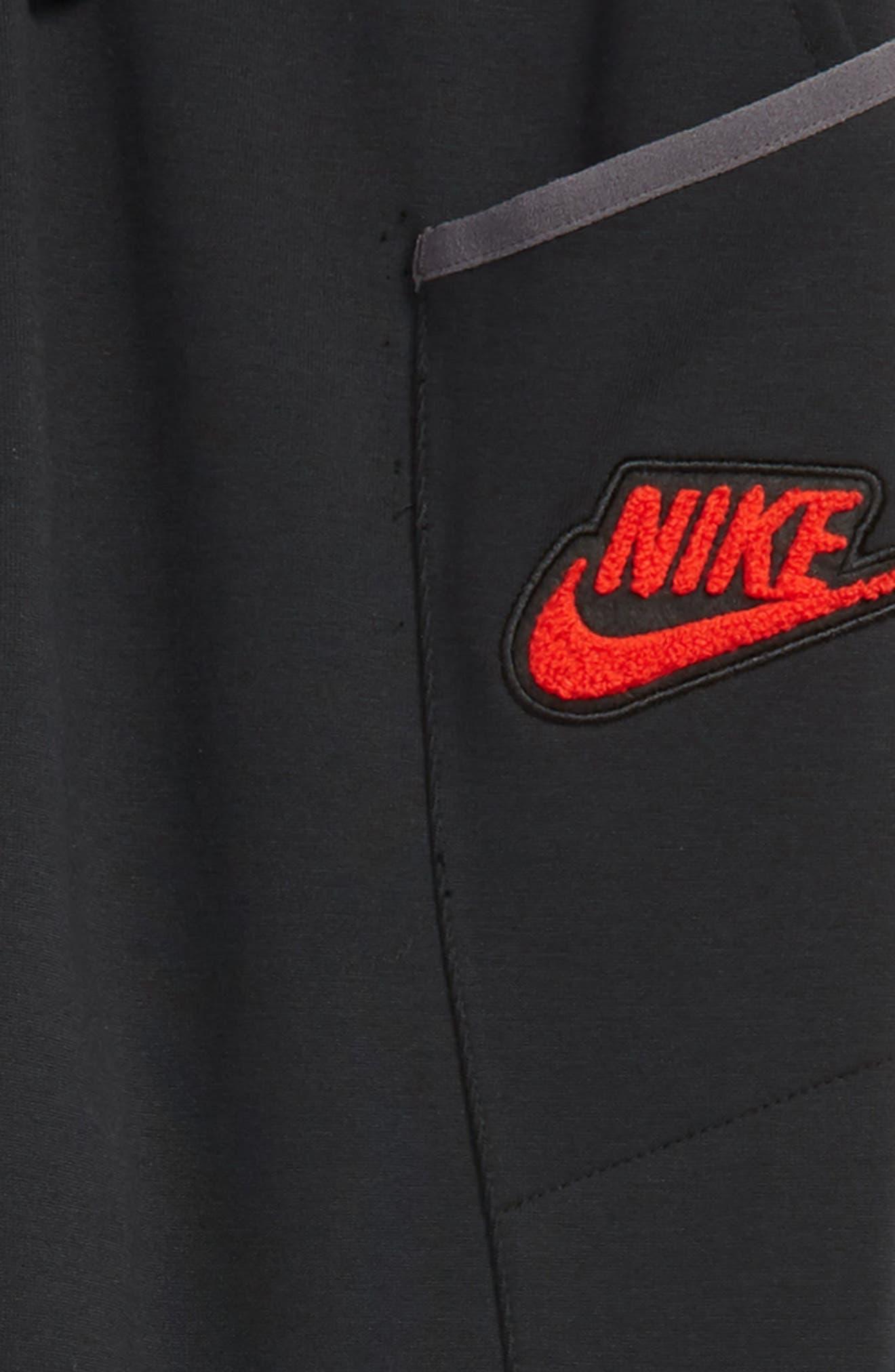 Sportswear Tech Fleece Pants,                             Alternate thumbnail 2, color,                             BLACK/ THUNDER GREY