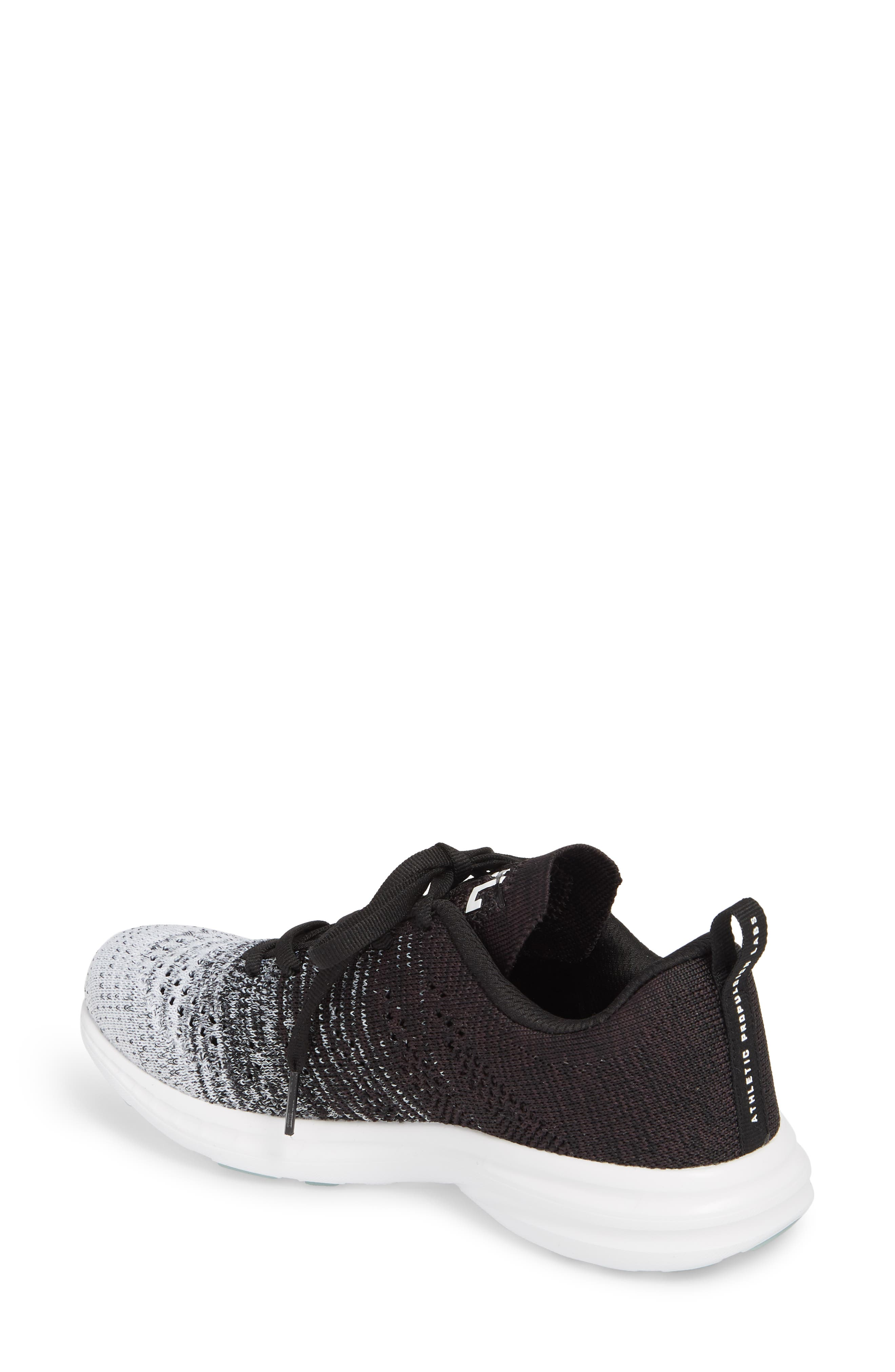 'Techloom Pro' Running Shoe,                             Alternate thumbnail 2, color,                             WHITE/ HEATHER GREY/ BLACK