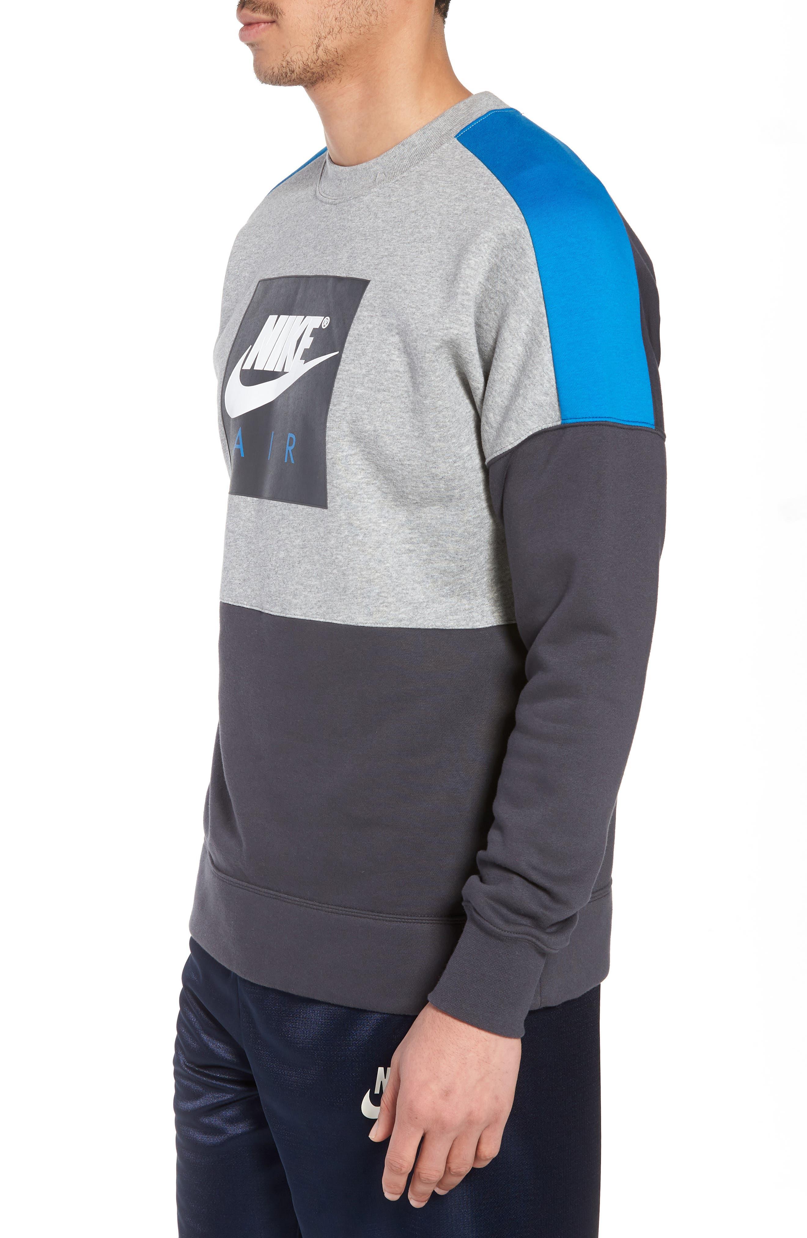 NSW Air Crewneck Sweatshirt,                             Alternate thumbnail 6, color,