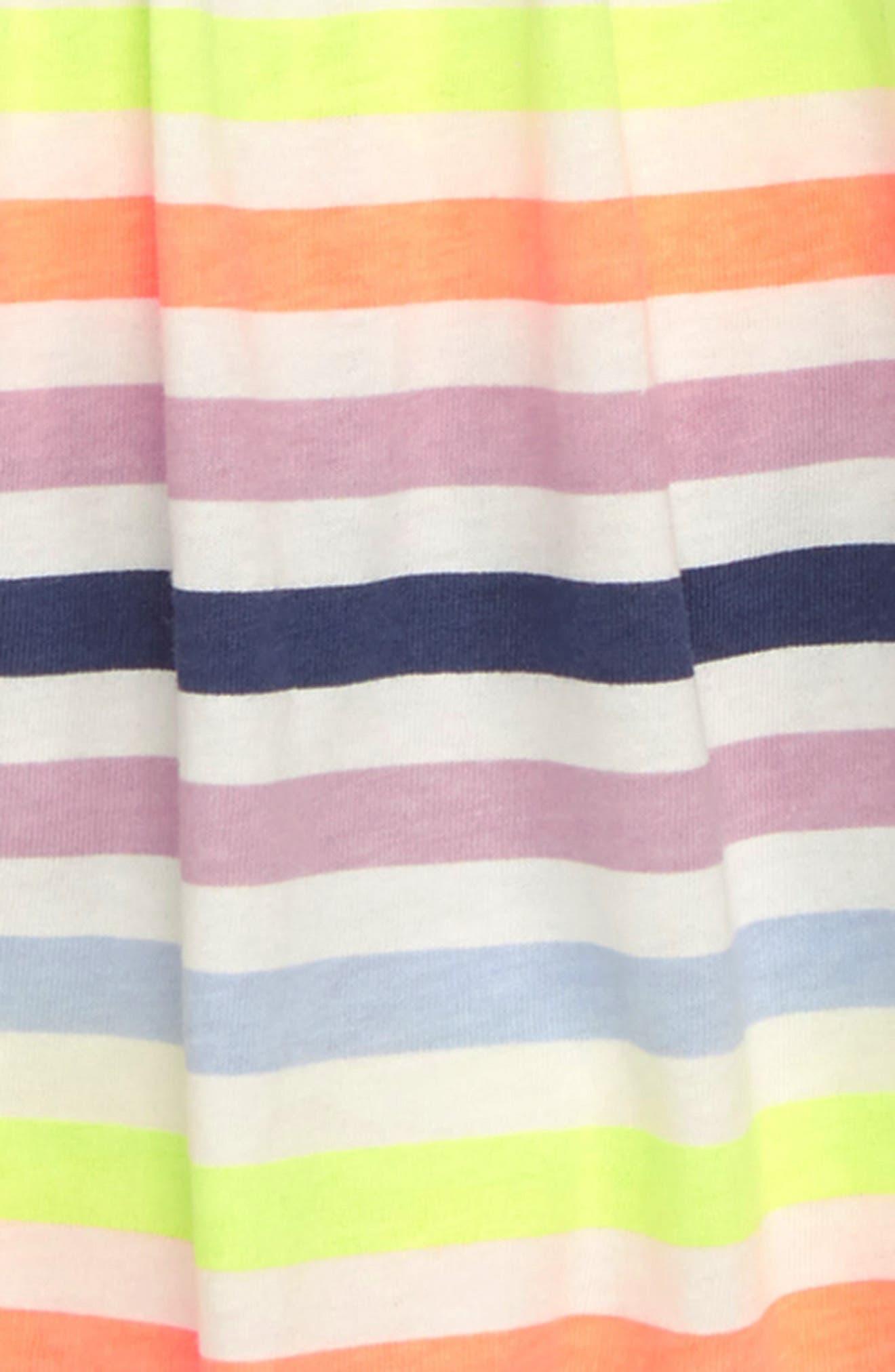 Stripe Bell Sleeve Tee,                             Alternate thumbnail 2, color,                             400