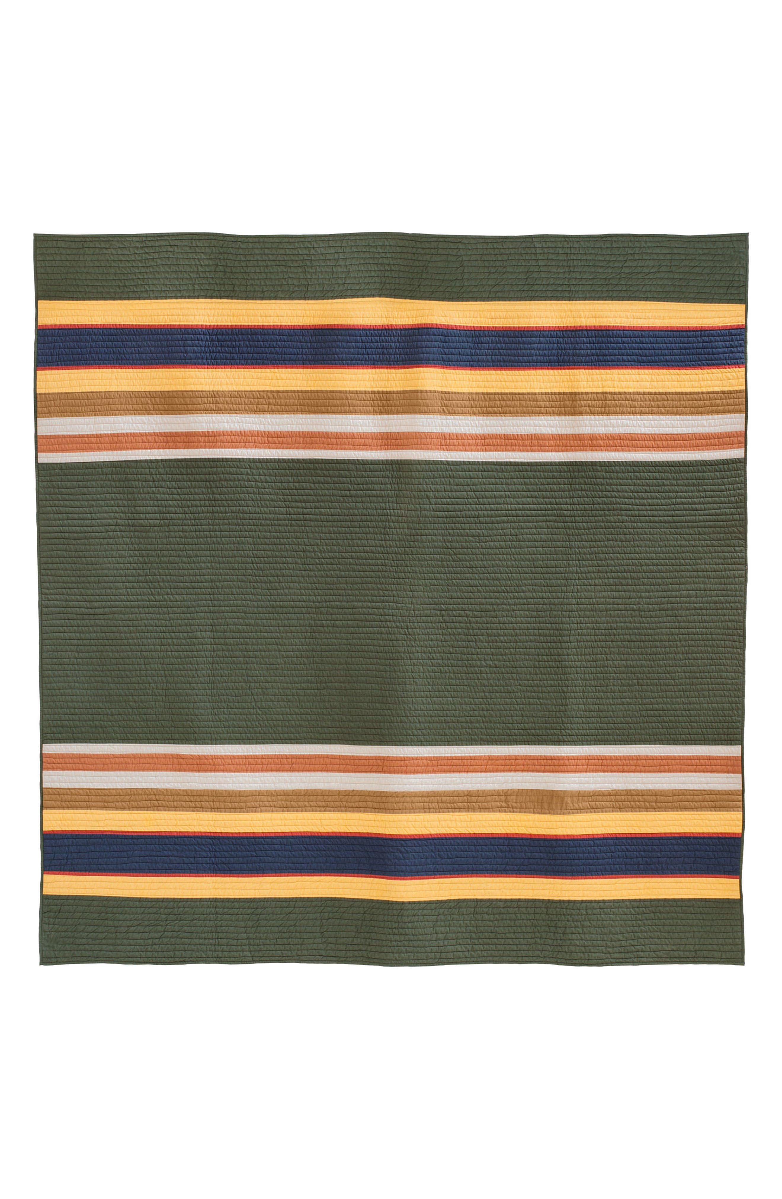 National Park Stripe Quilt & Sham Set,                             Alternate thumbnail 2, color,                             300