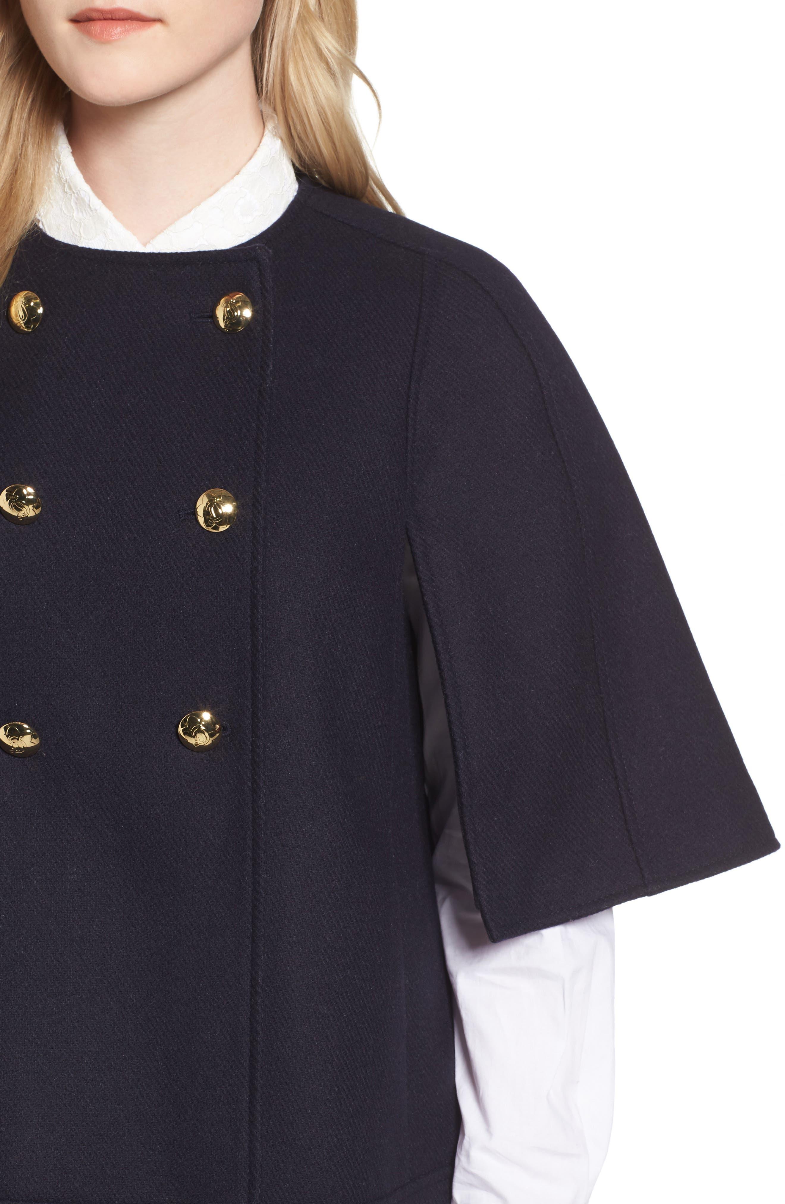 Hollis Cape Jacket,                             Alternate thumbnail 4, color,