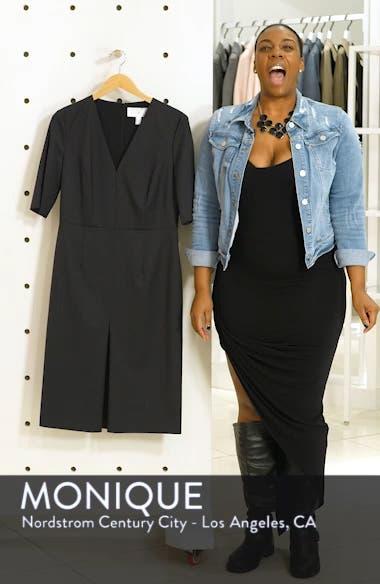 Dalissa Pepita Wool Dress, sales video thumbnail