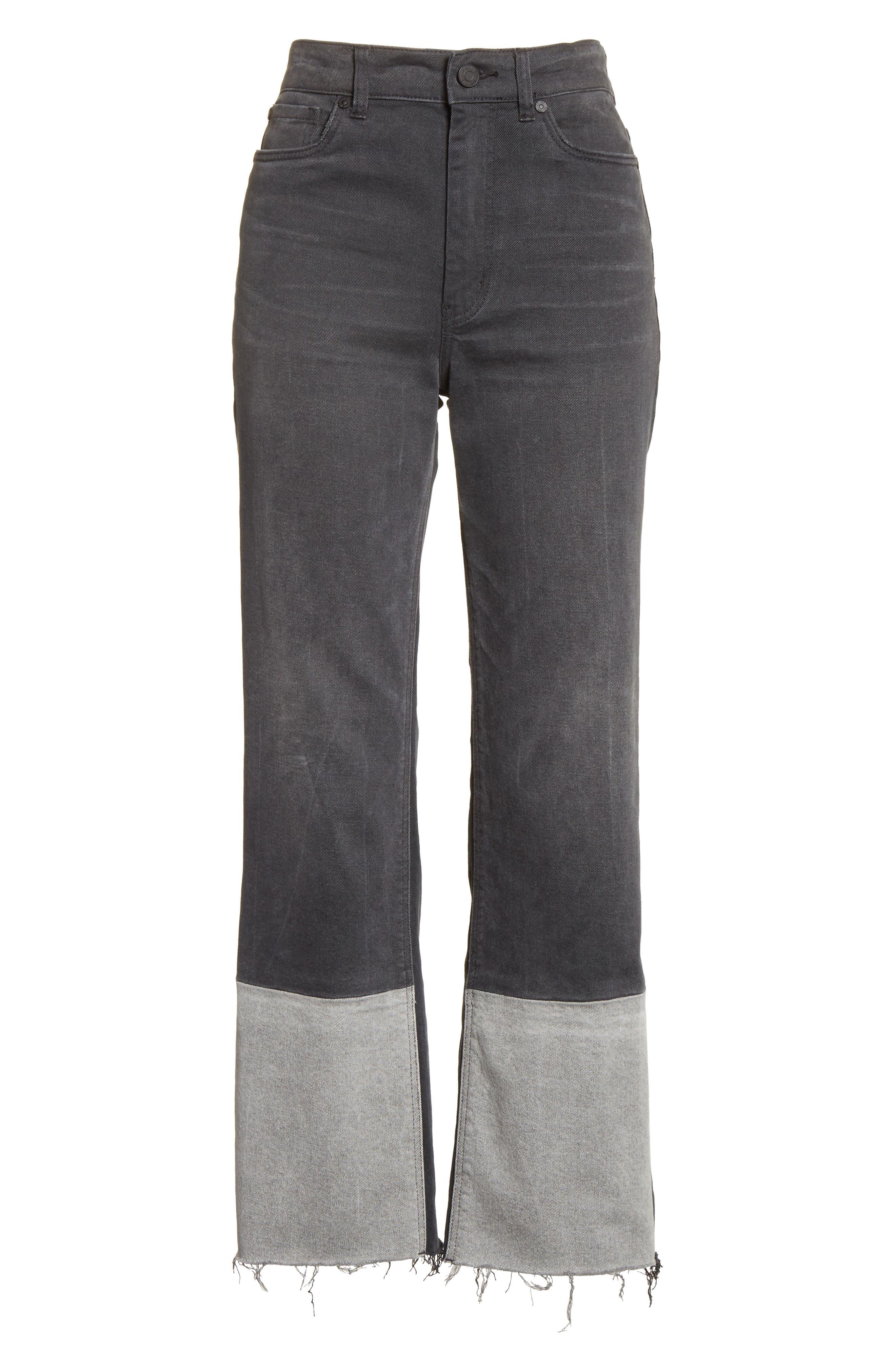 Patch Jeans,                             Alternate thumbnail 6, color,                             063