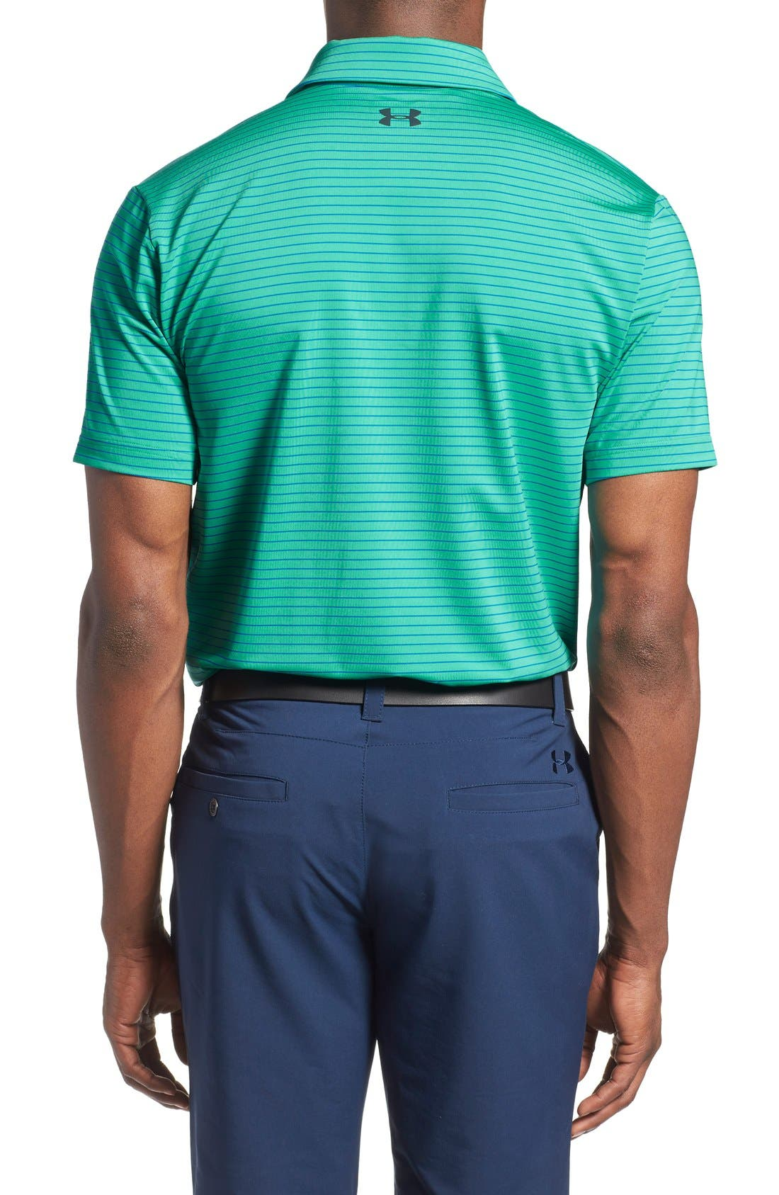 'Playoff' Loose Fit Short Sleeve Polo,                             Alternate thumbnail 139, color,