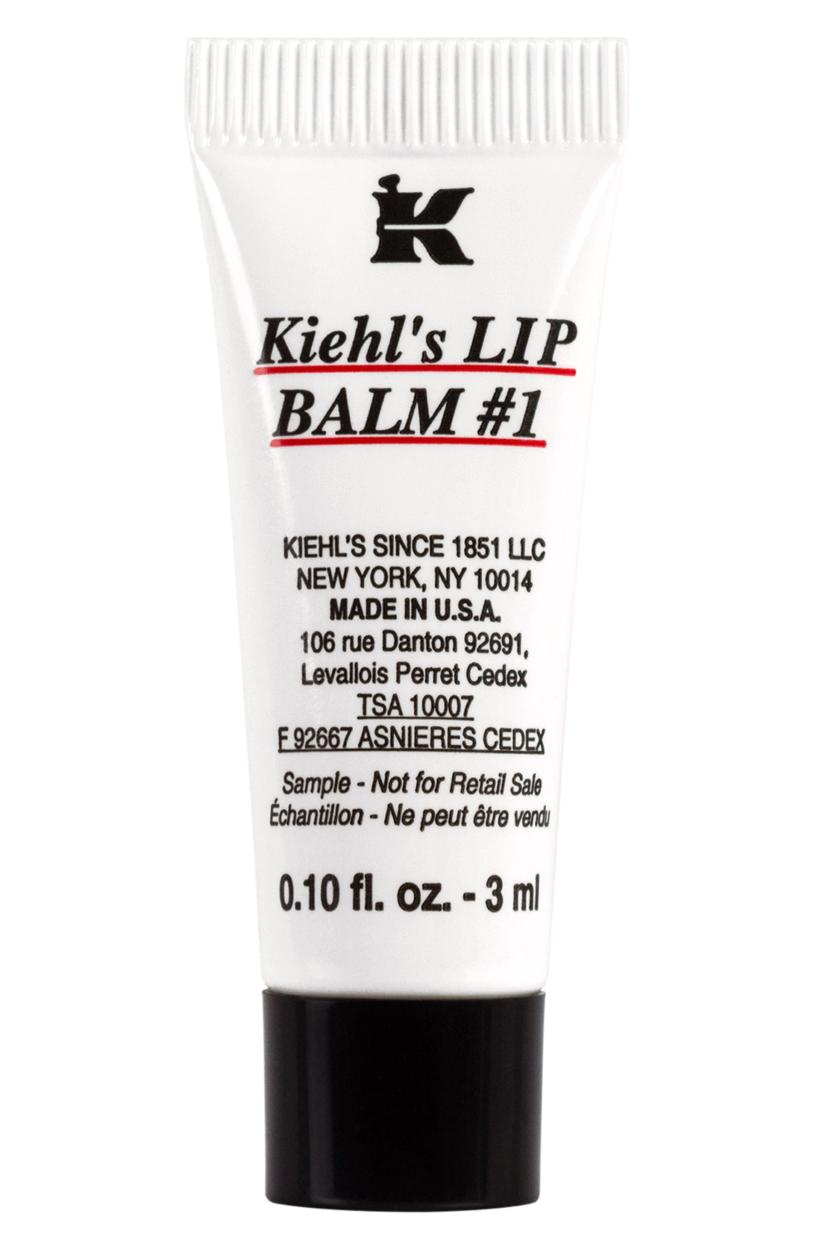 Lip Balm #1,                         Main,                         color, NO COLOR