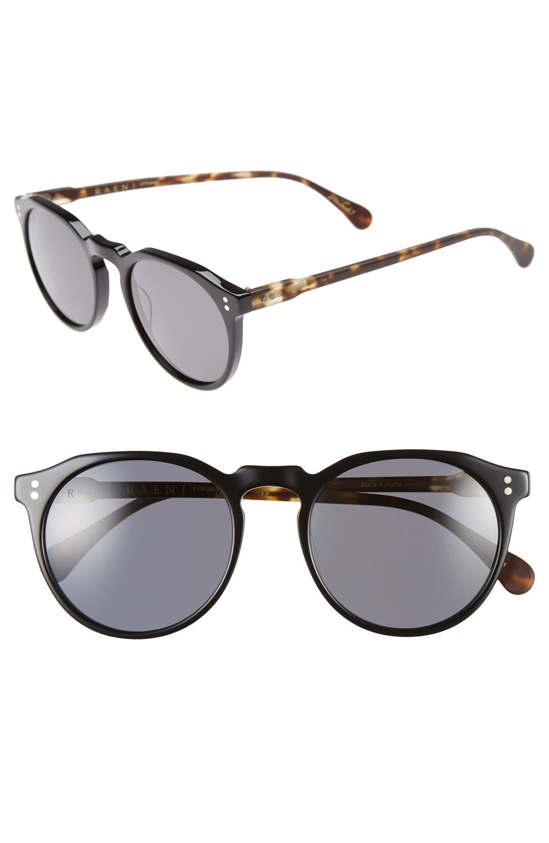 'Remmy' 52mm Polarized Sunglasses,                             Main thumbnail 3, color,
