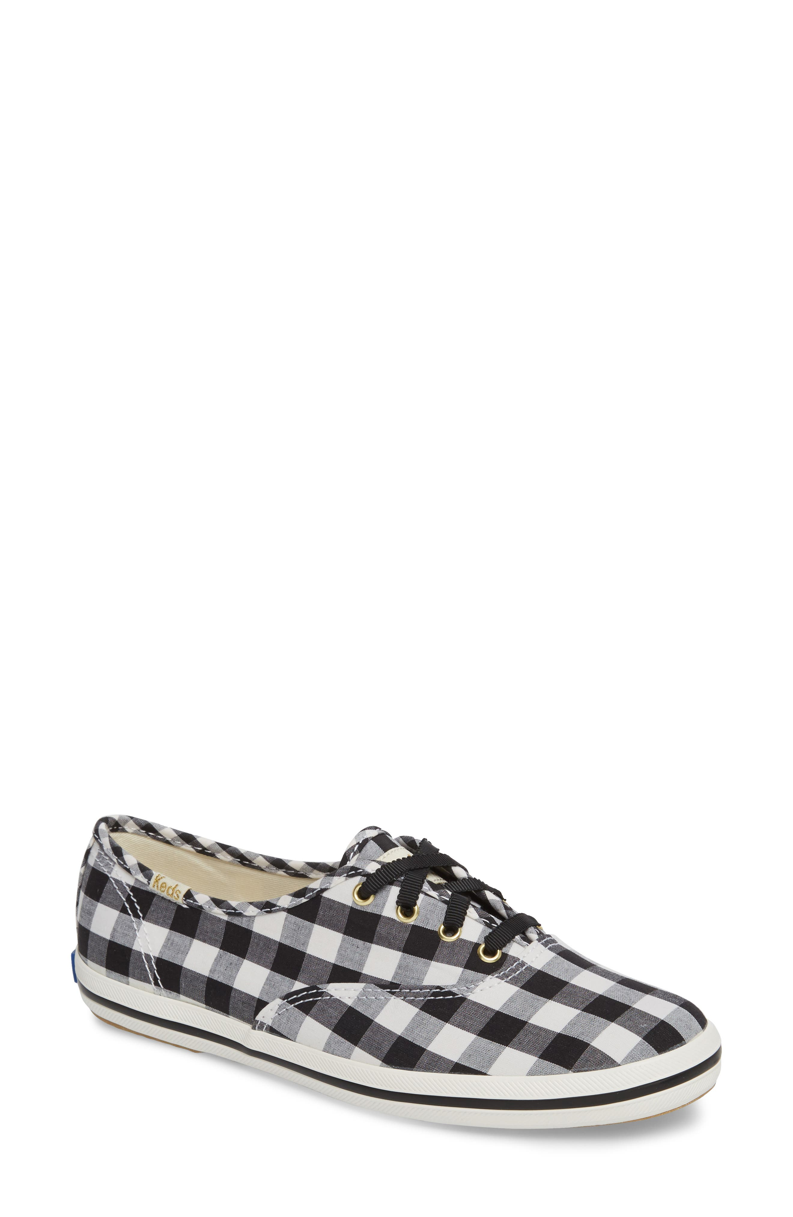 champion gingham sneaker,                             Main thumbnail 1, color,