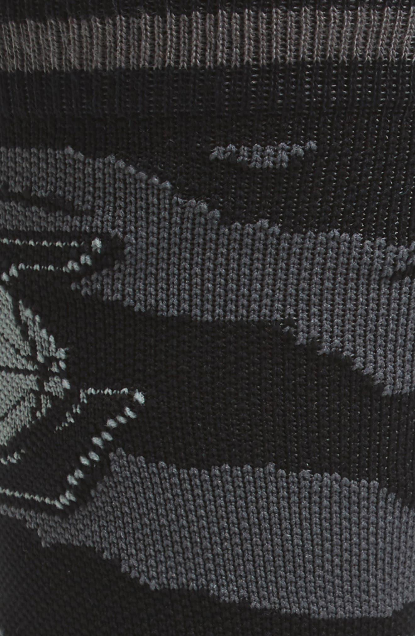 NBA Casual Nightfall Lakers Socks,                             Alternate thumbnail 2, color,                             001