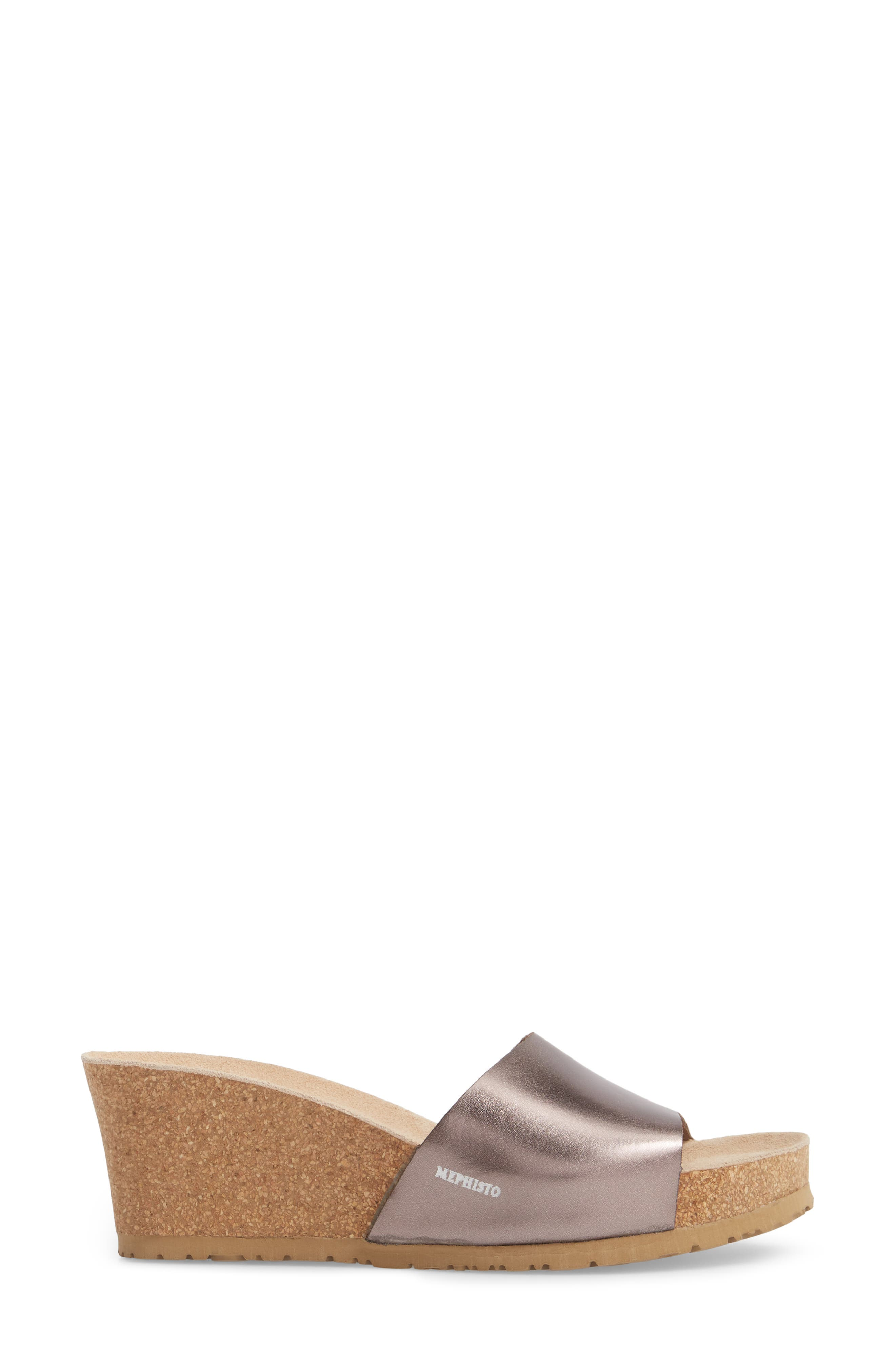 Lise Platform Wedge Sandal,                             Alternate thumbnail 13, color,