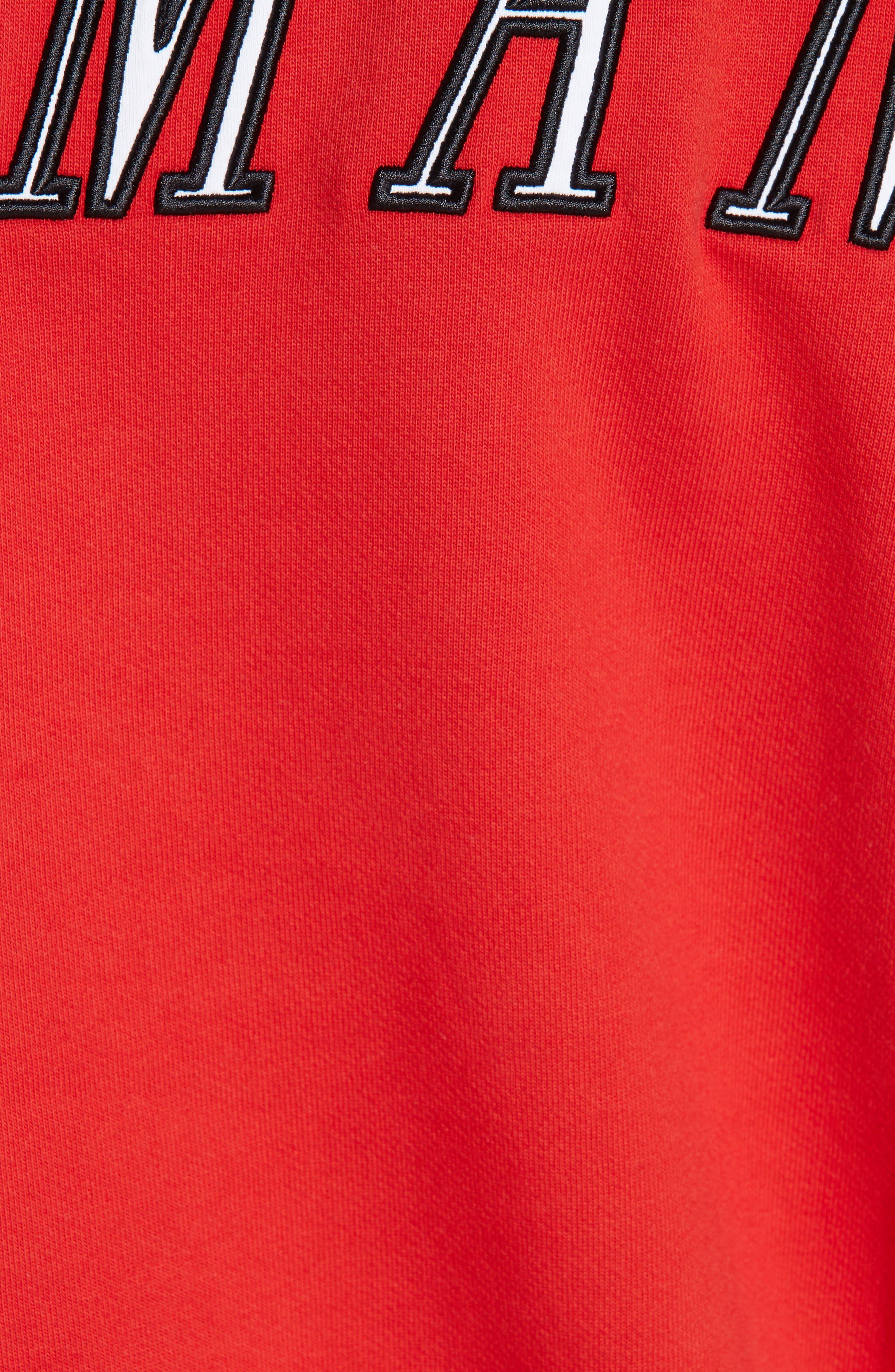 Jockey Checkerboard Crewneck Sweatshirt,                             Alternate thumbnail 5, color,                             600