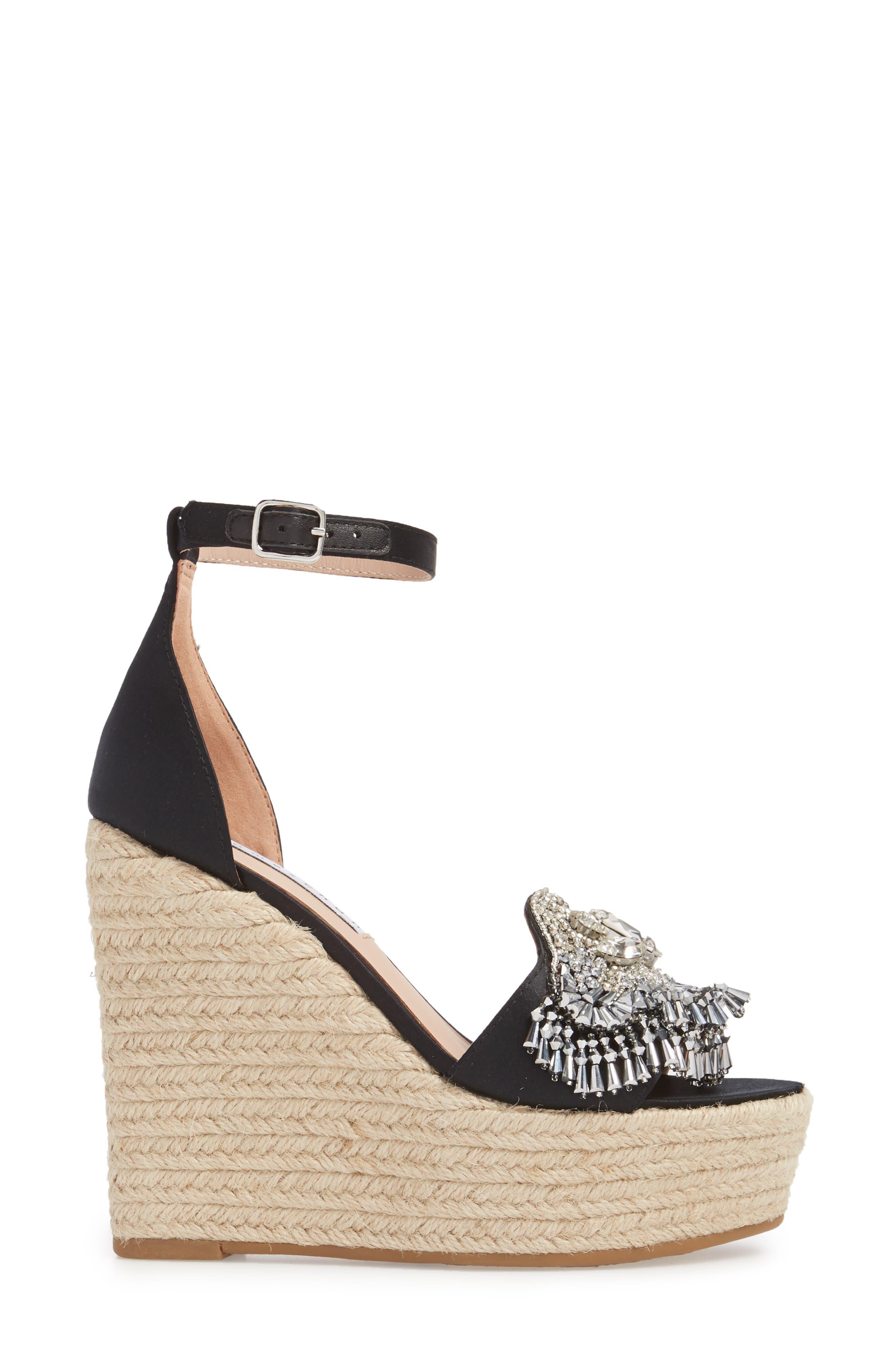Maxim Platform Wedge Sandal,                             Alternate thumbnail 7, color,