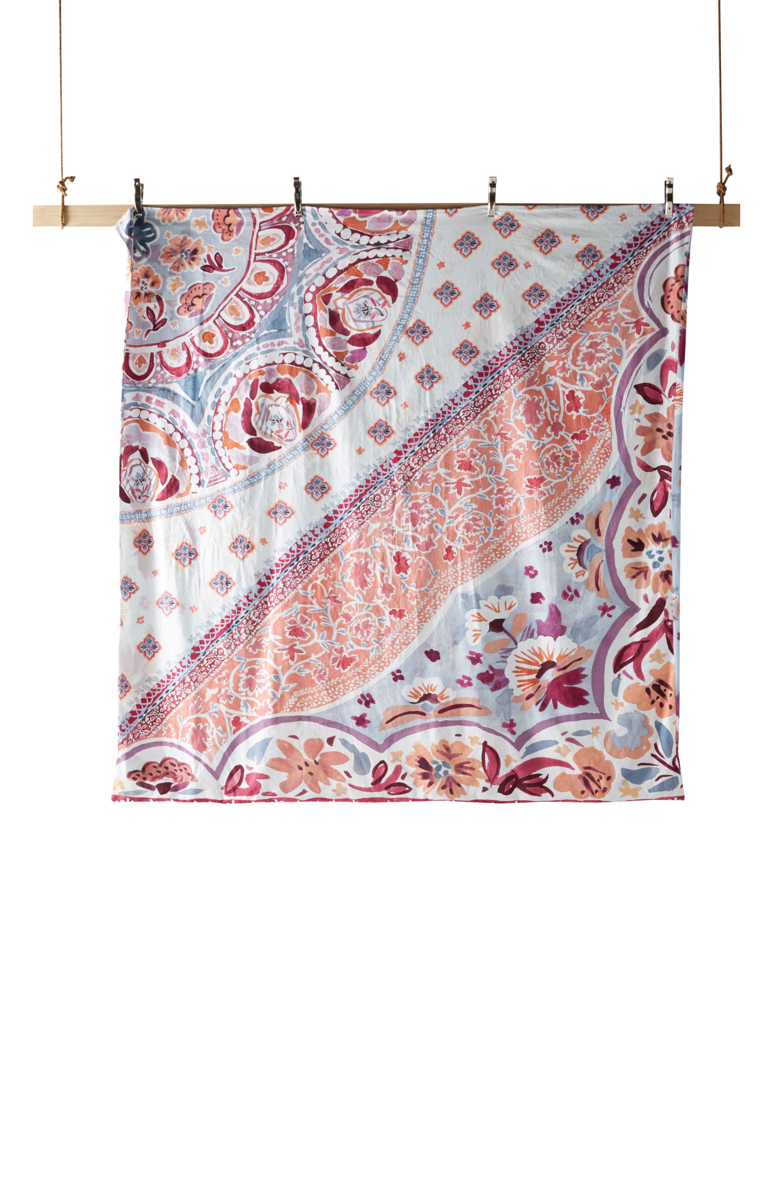 Switchgrass Duvet Cover,                             Alternate thumbnail 4, color,                             SLATE