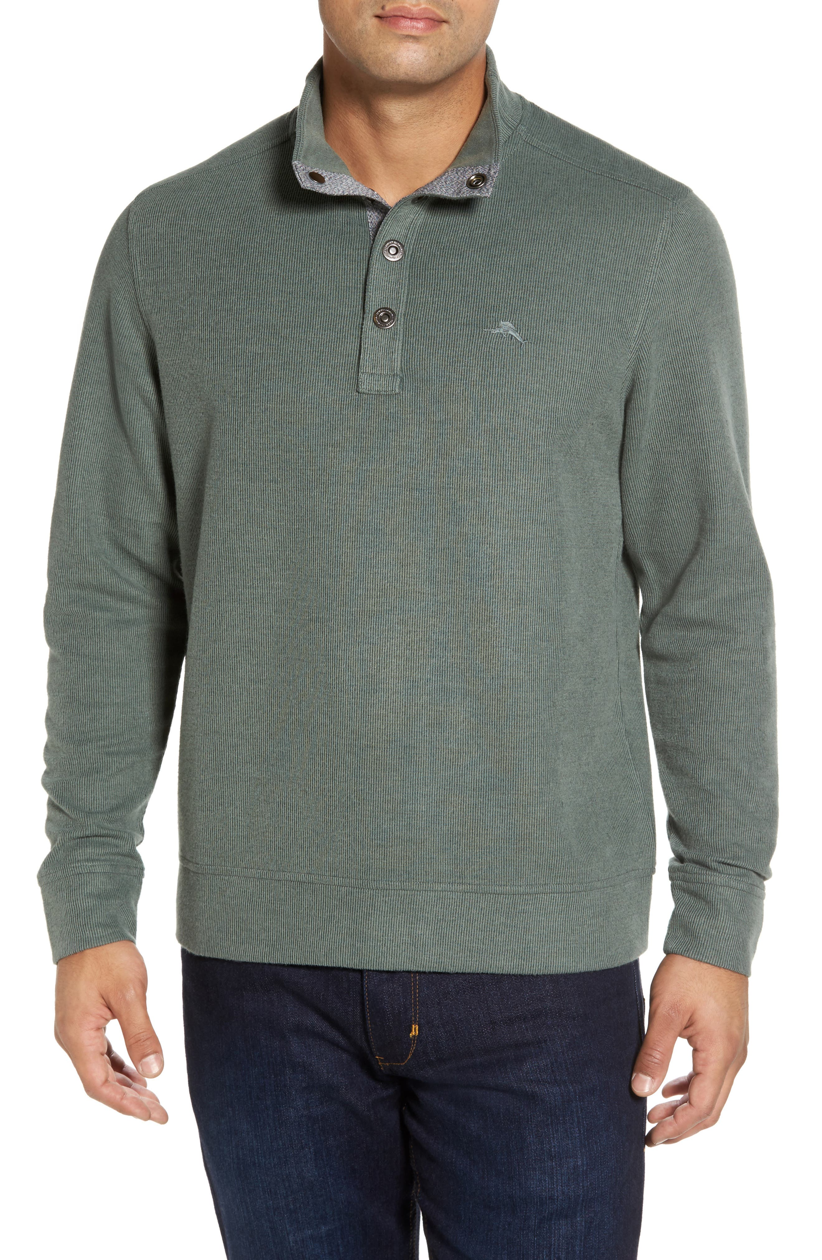 Cold Springs Snap Mock Neck Sweater,                             Main thumbnail 4, color,