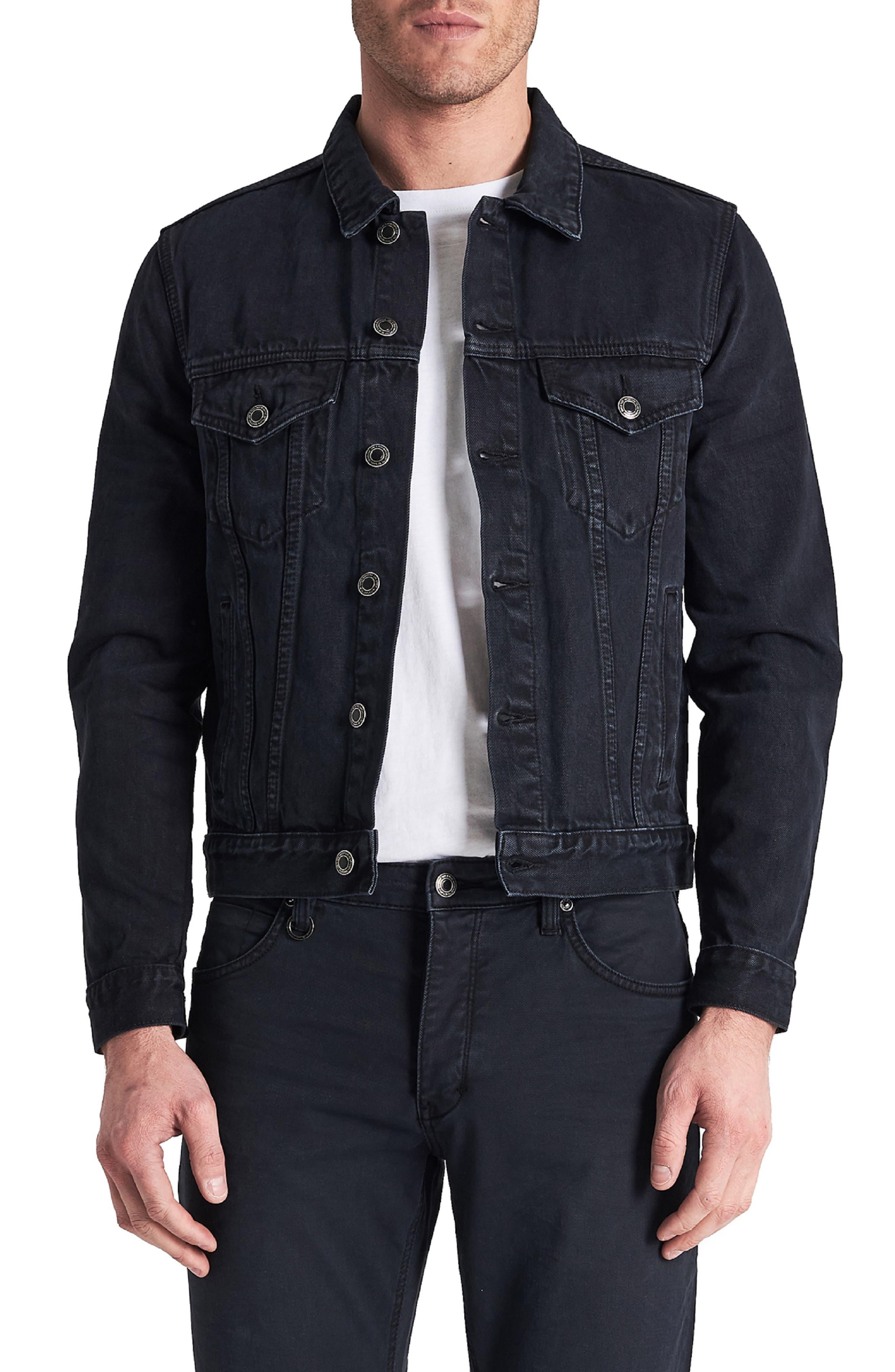 Type One Denim Jacket,                             Main thumbnail 1, color,                             DARK SKY