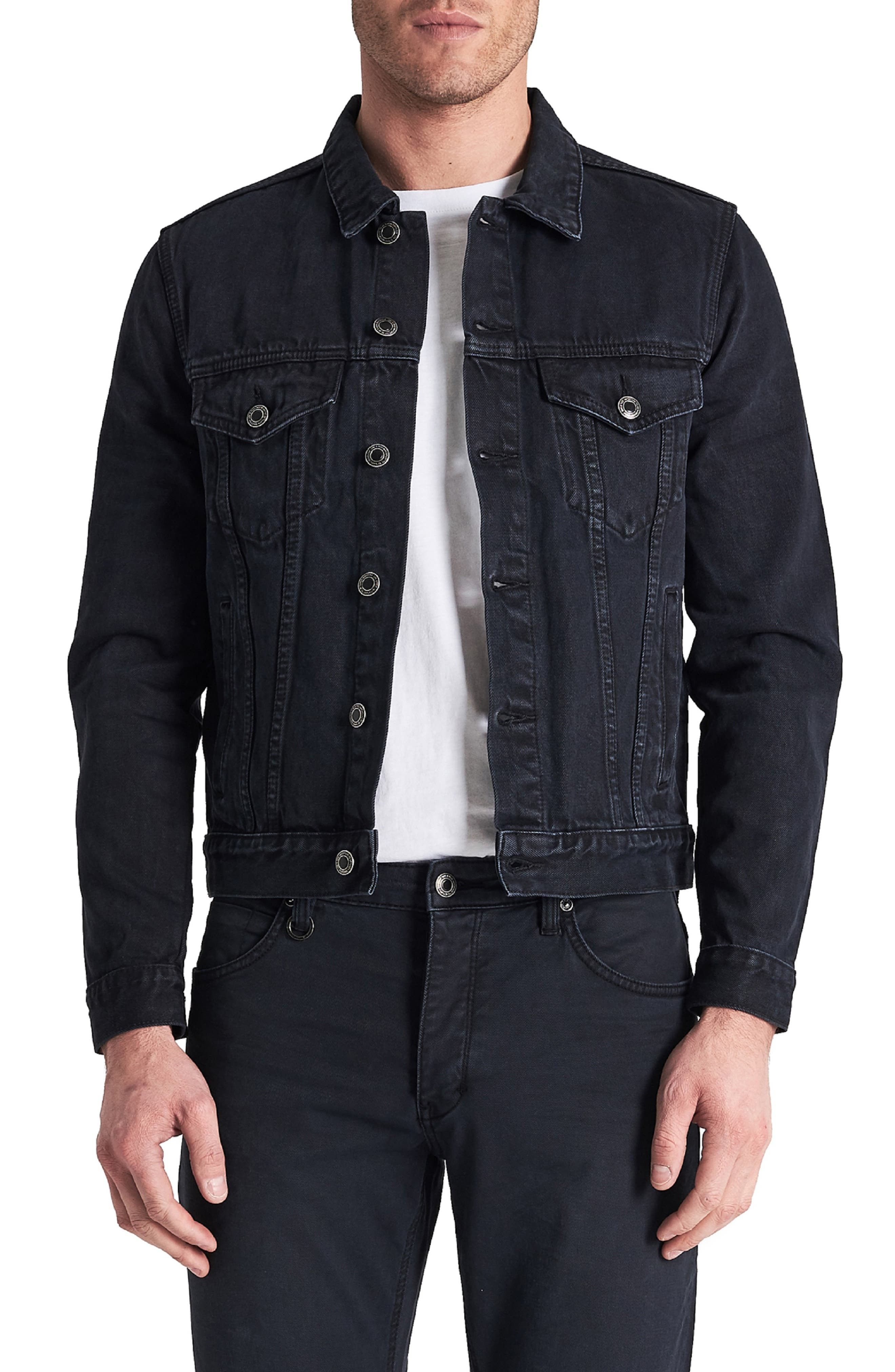 Type One Denim Jacket,                         Main,                         color, DARK SKY