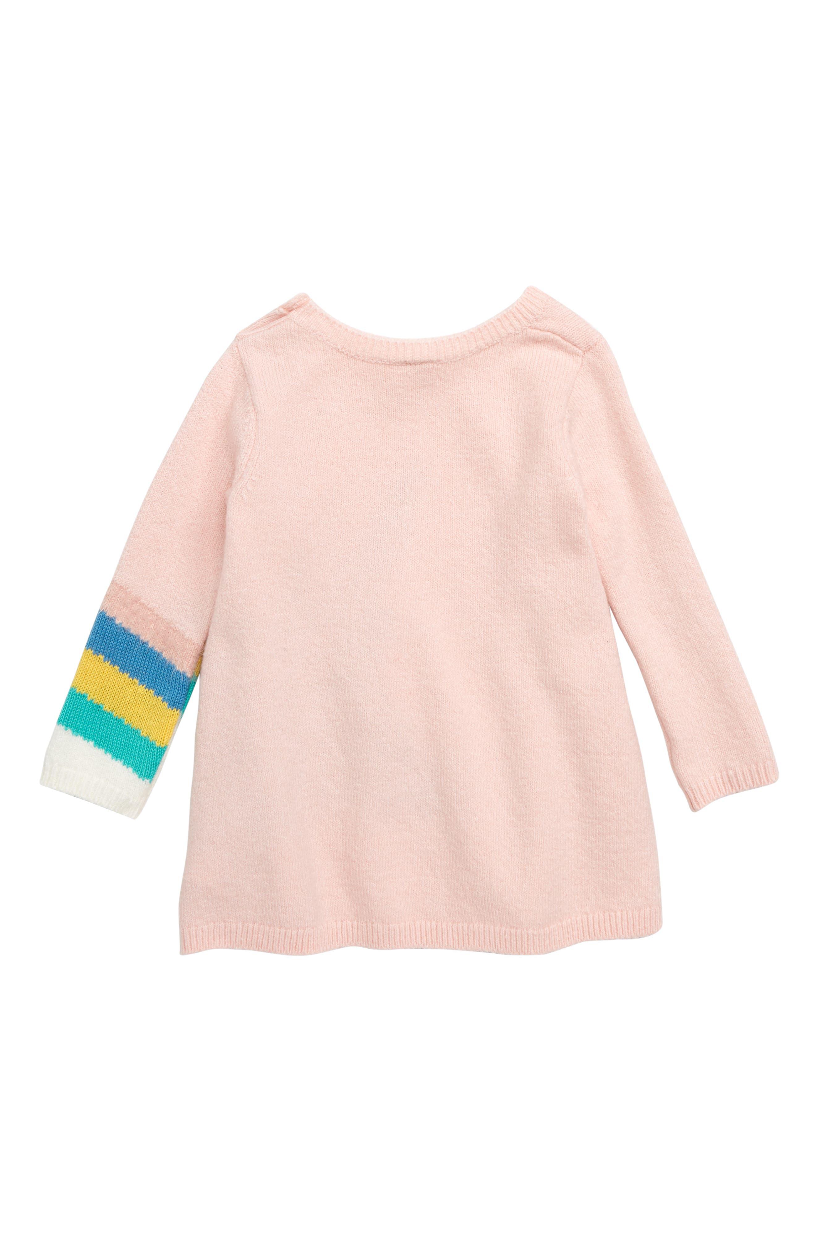 TUCKER + TATE,                             Unicorn Sweater Dress,                             Alternate thumbnail 2, color,                             680