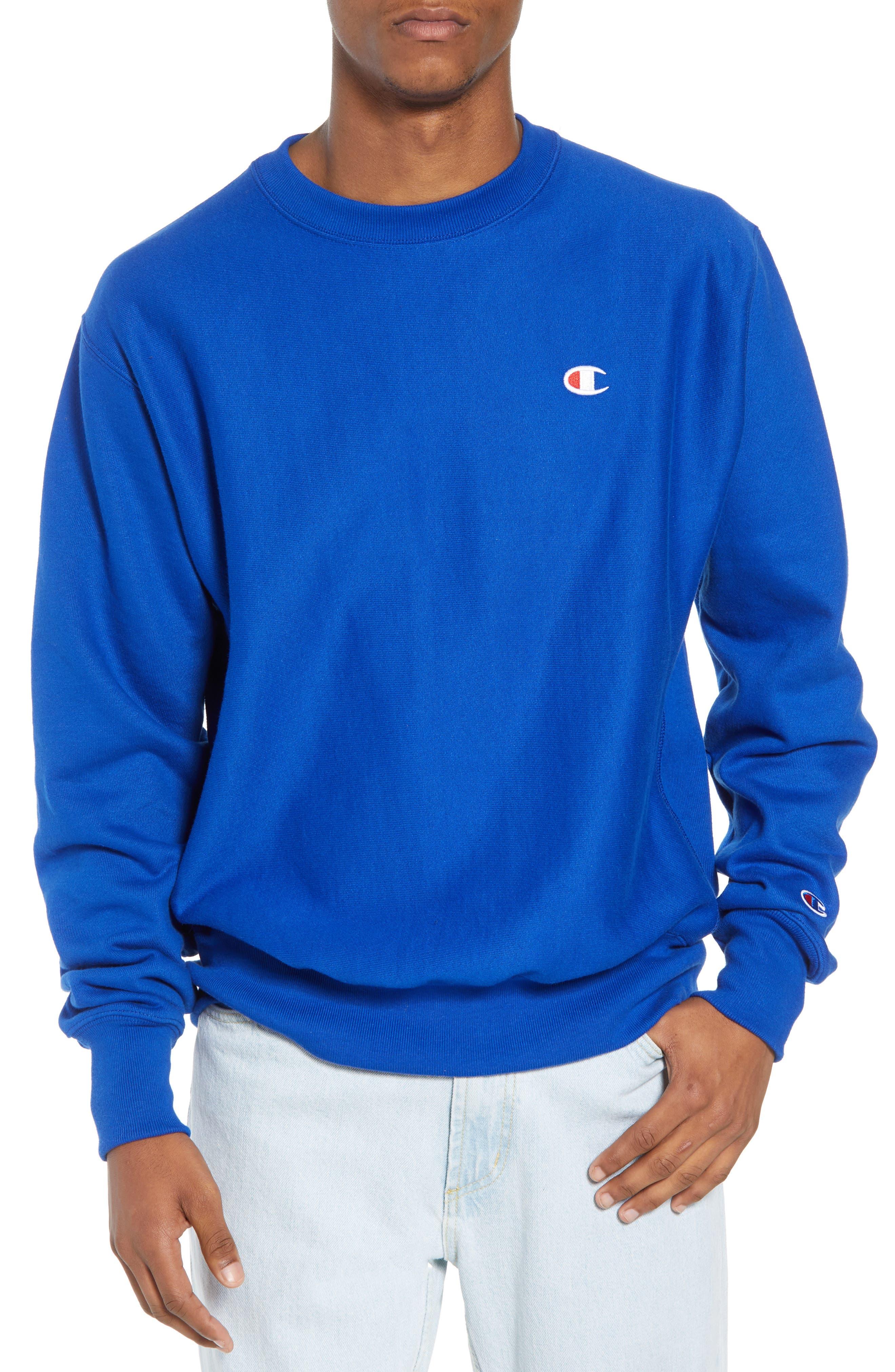 Reverse Weave Sweatshirt,                             Main thumbnail 6, color,